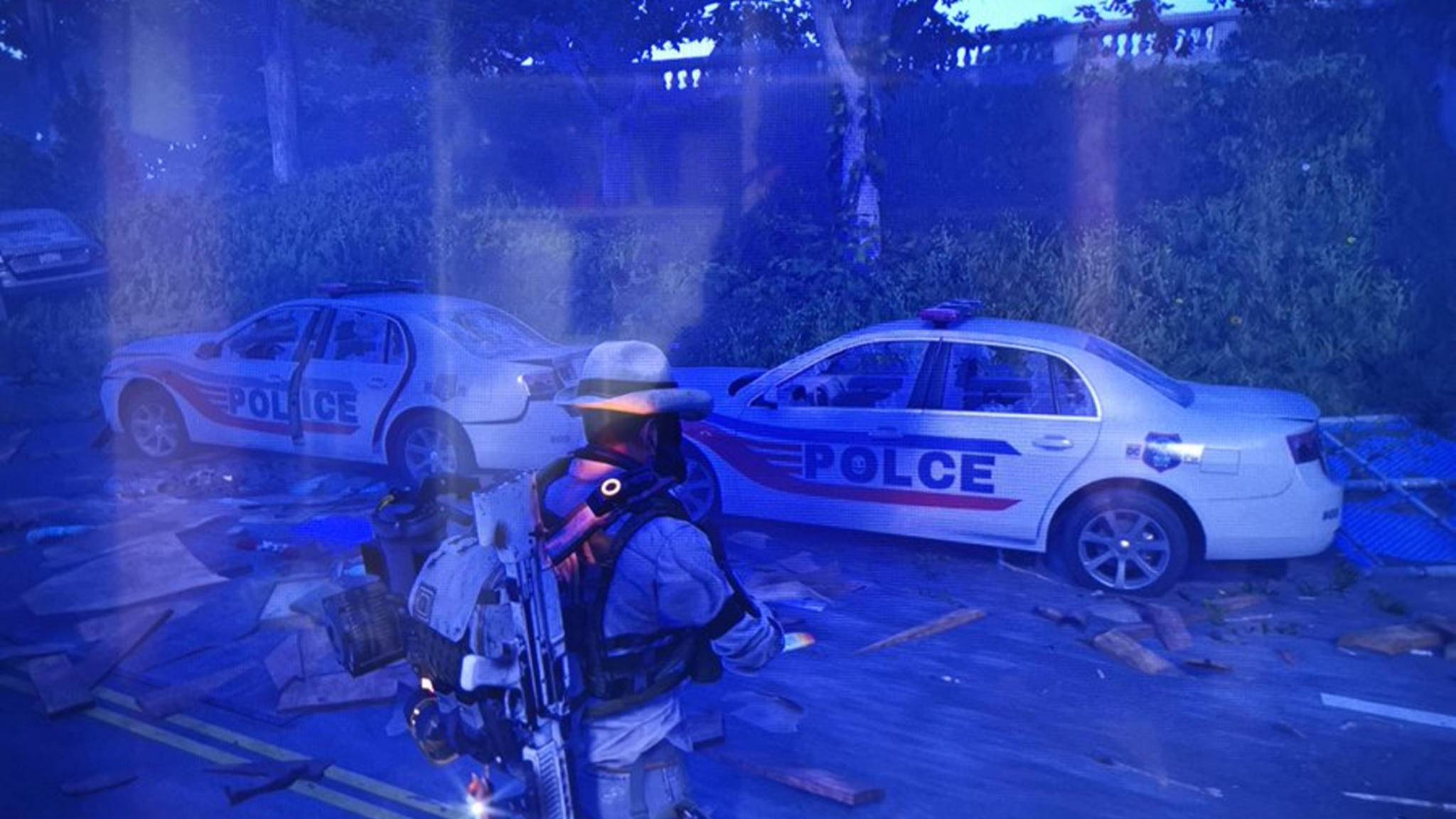 "Das ist es ja, das POLCE-Auto in ""The Division 2""!"