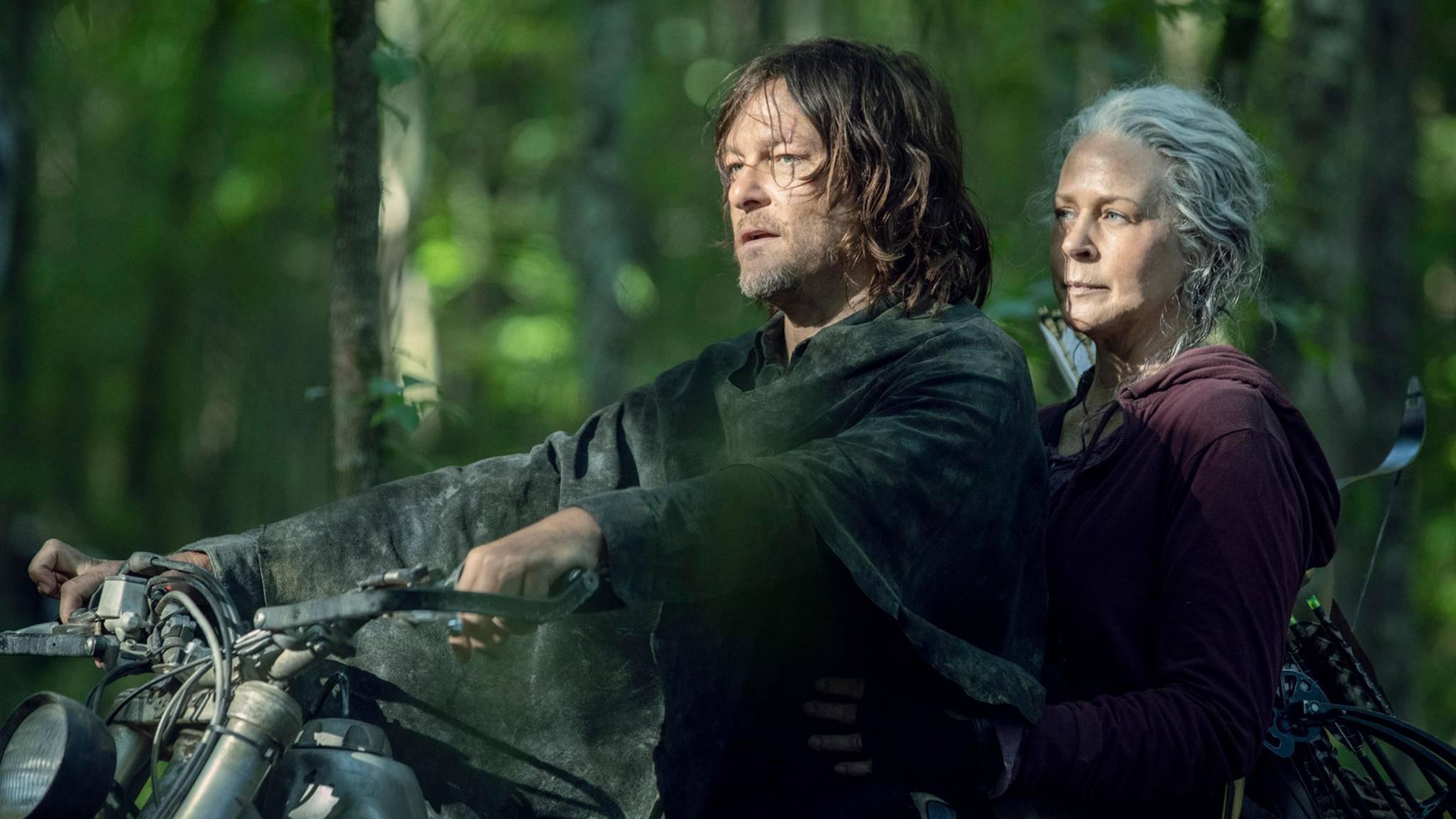 The Walking Dead Daryl Carol