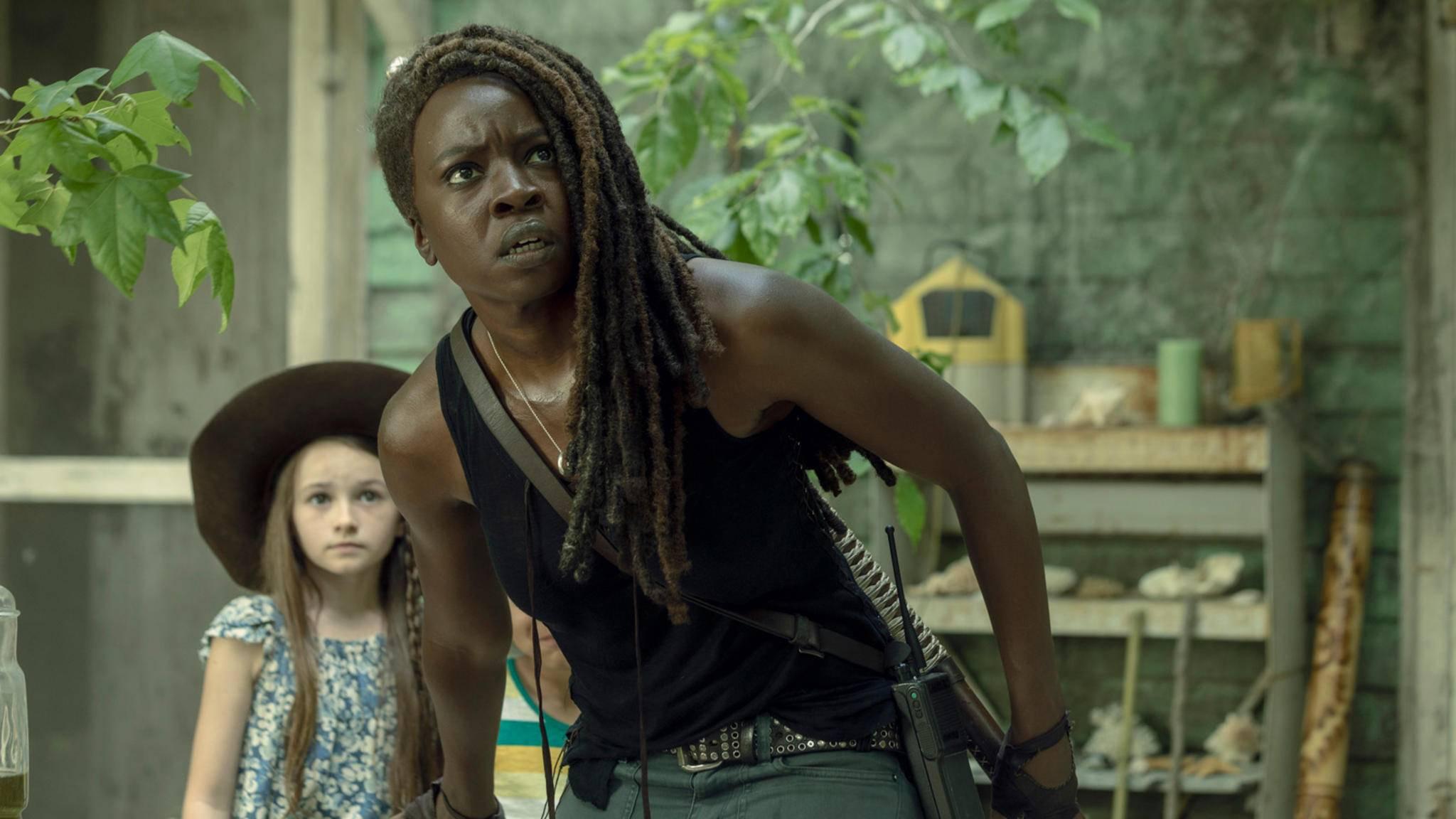 The Walking Dead Michonne Judith