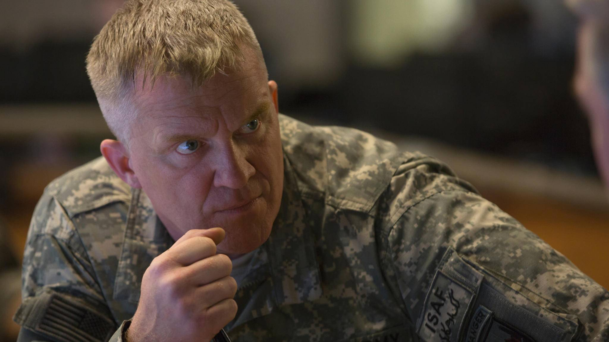 War Machine-Anthony Michael Hall-Francois Duhamel-Netflix