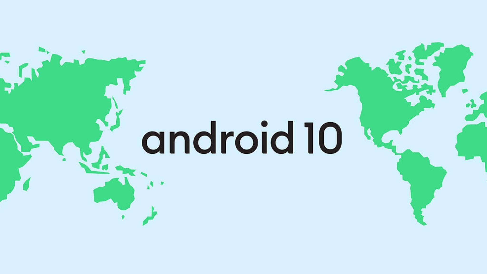 Android 10 soll für viele Smartphones noch in diesem Jahr kommen.