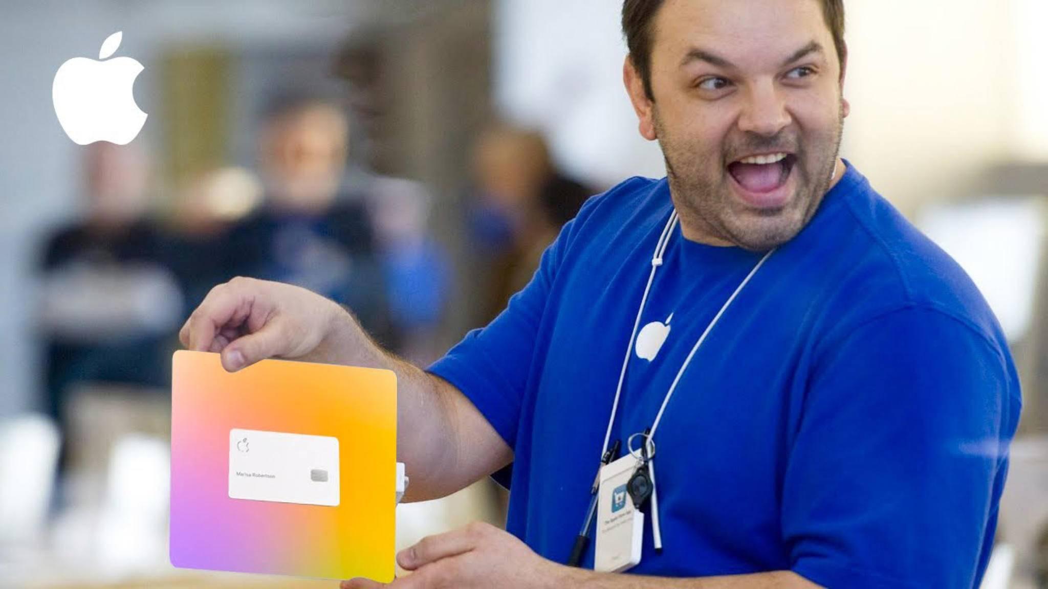 Der Startschuss ist gefallen – erste Kunden können die Apple Card beantragen.