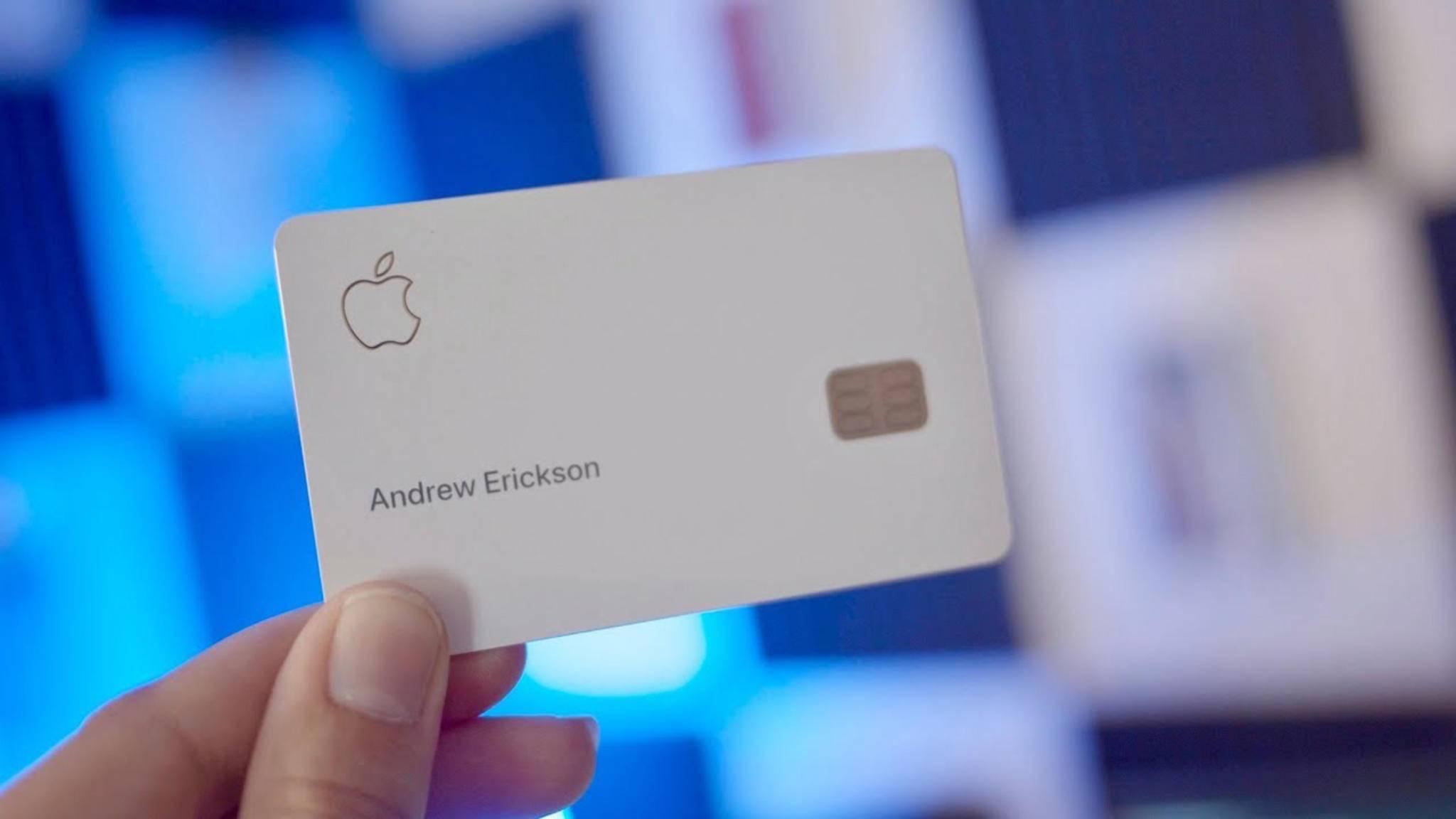 Apple Card gestartet: iPhone-Kreditkarte für alle US-Kunden verfügbar