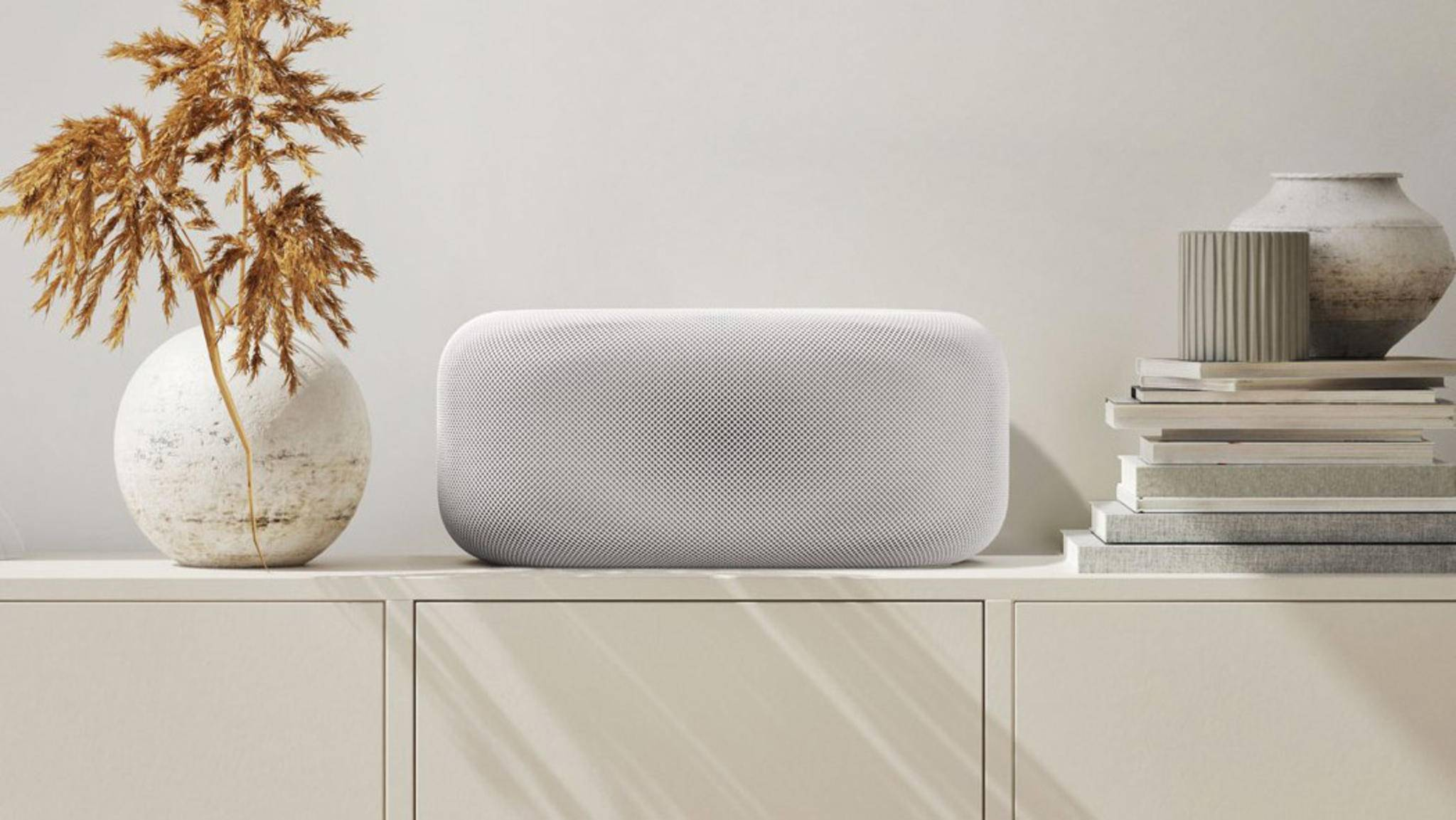 Designer Philip Goolkasian hat sich überlegt wie ein HomePod Pro von Apple aussehen könnte.
