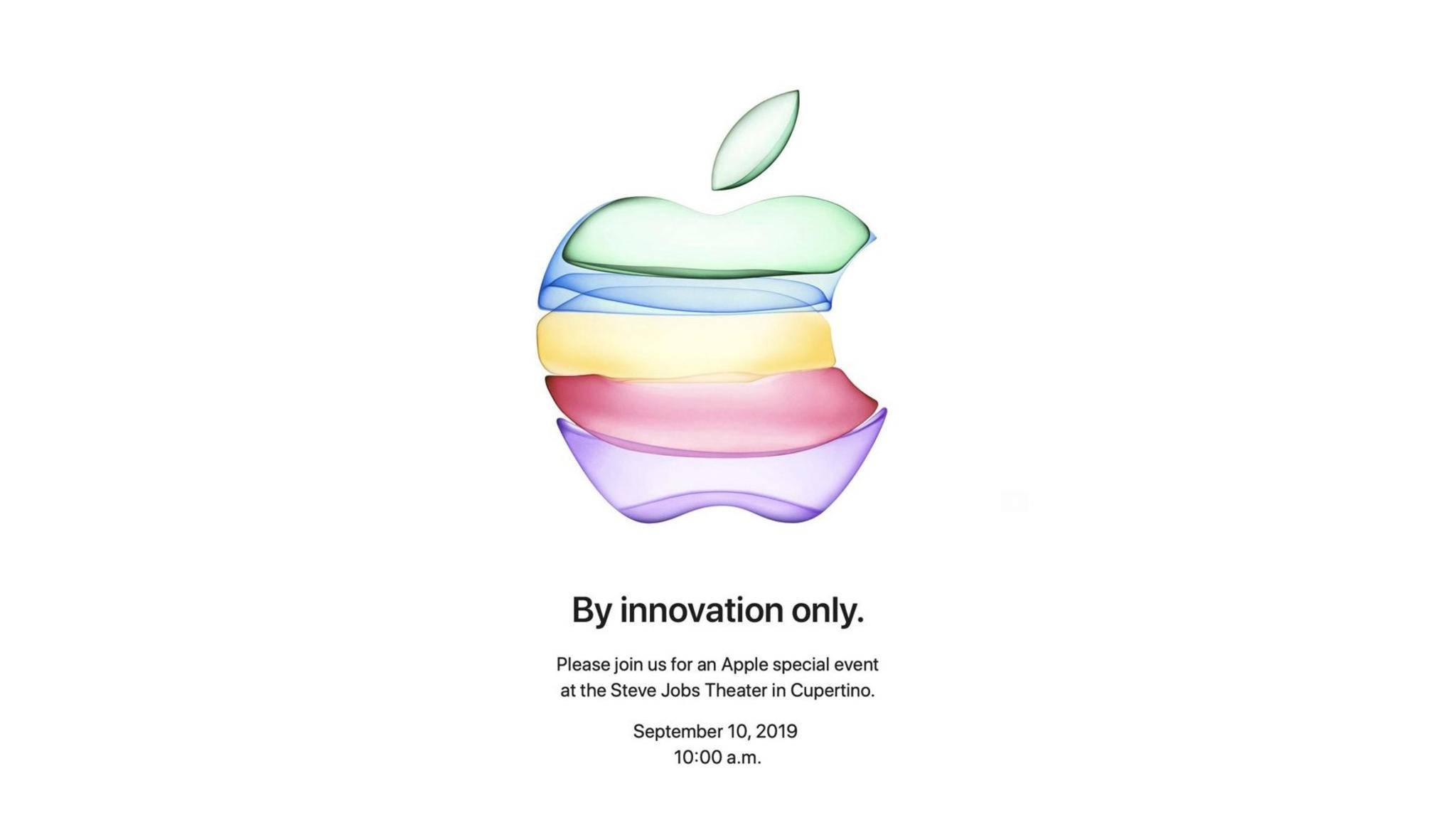 Am 10. September werden die neuen iPhones 2019 vorgestellt.