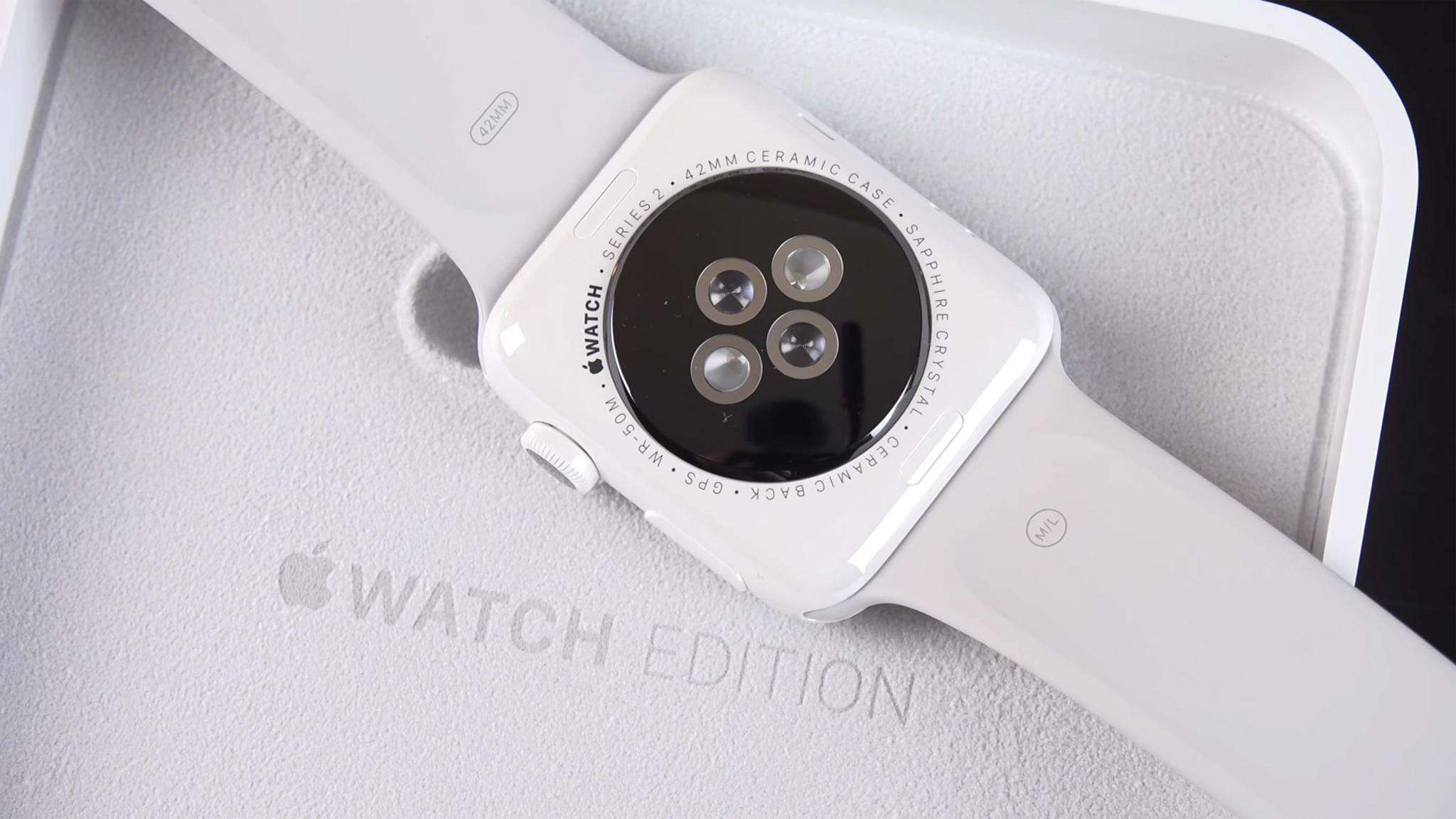 Apple könnte eine Apple Watch mit Keramik-Gehäuse vorstellen.