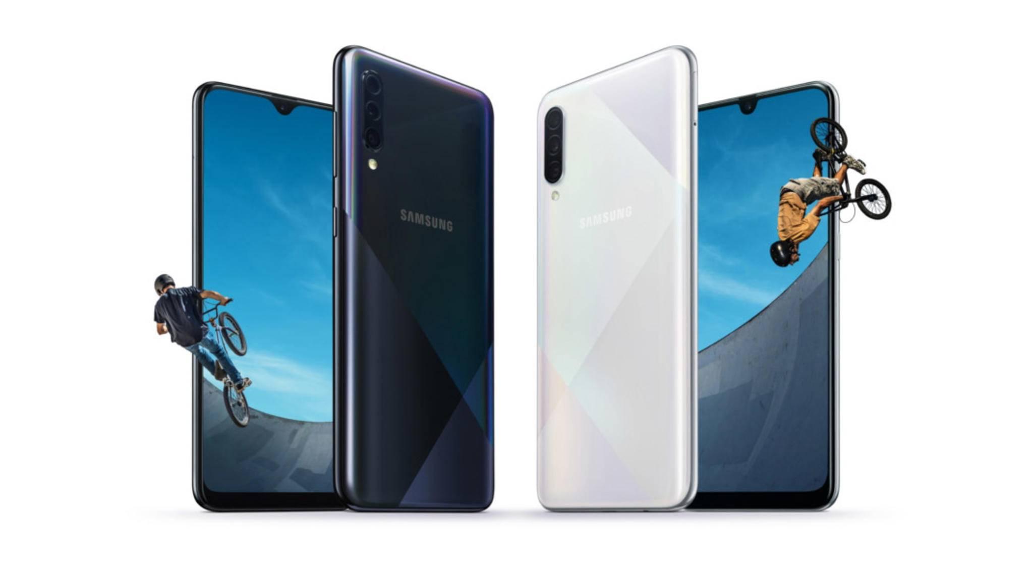 Samsung hat zwei neue Mittelklasse-Smartphones angekündigt.