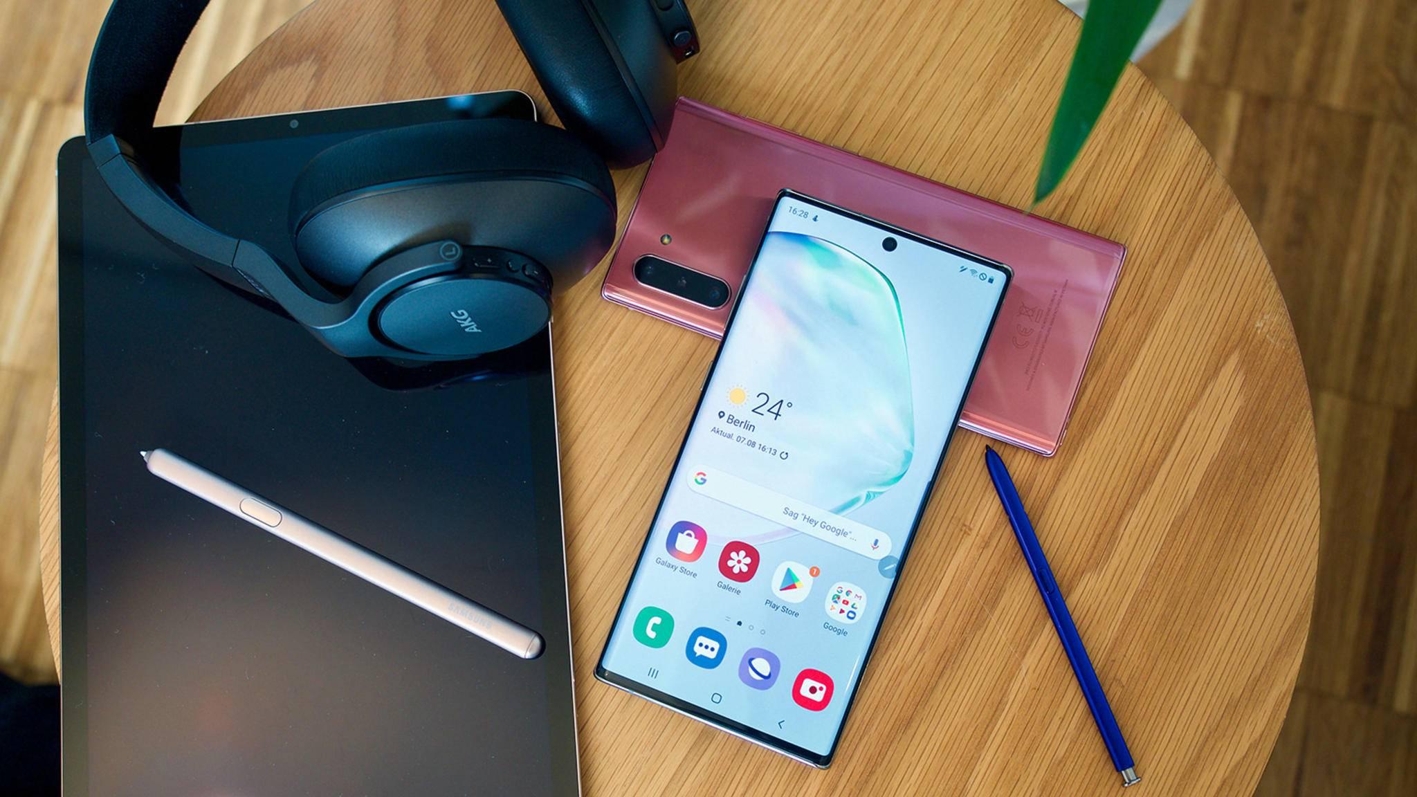 Das Samsung Galaxy Note 10 Plus 5G kann mit seiner Kamera-Power punkten.