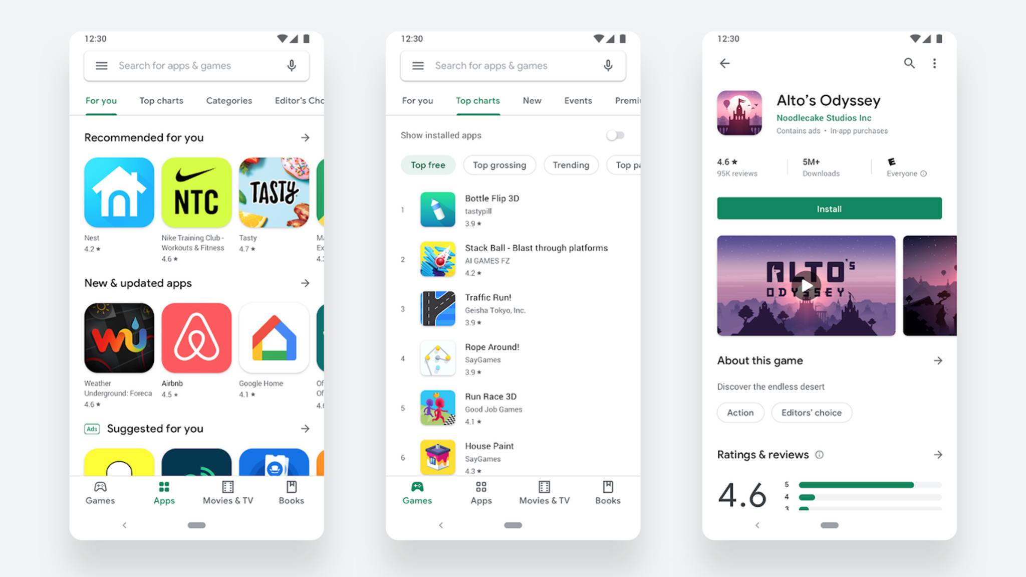 google-play-store-redesign