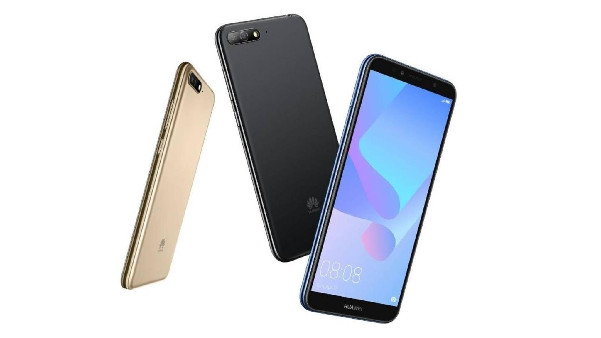 Günstige Smartphones von Huawei