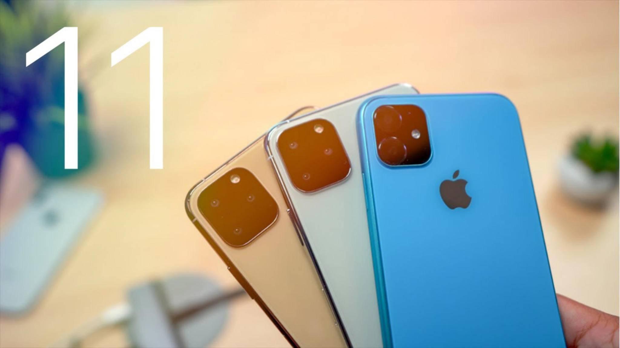 Könnte am 20. September in den Verkauf starten: das neue iPhone 2019.
