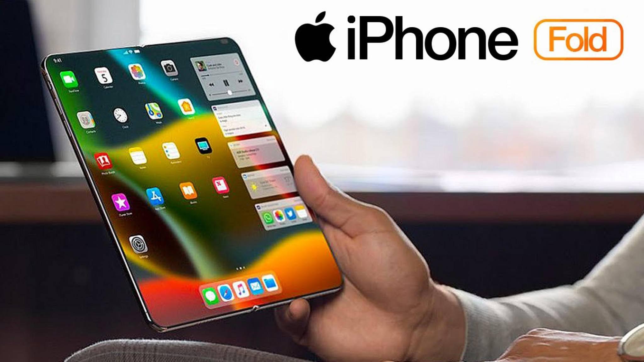 Apple soll sich intensiv mit der Technologie faltbarer Geräte beschäftigen.