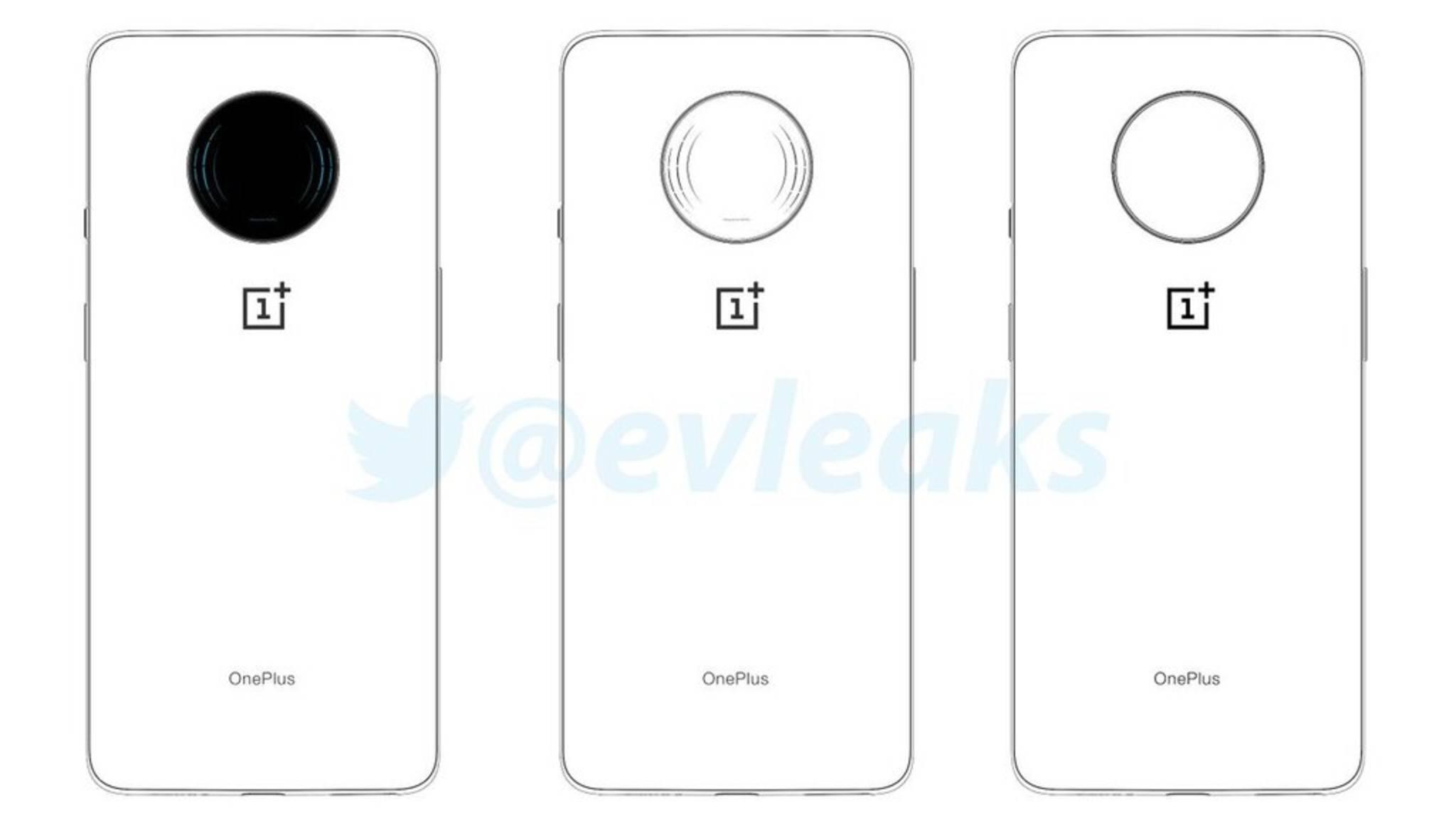 So soll die Rückseite des OnePlus 7T aussehen.