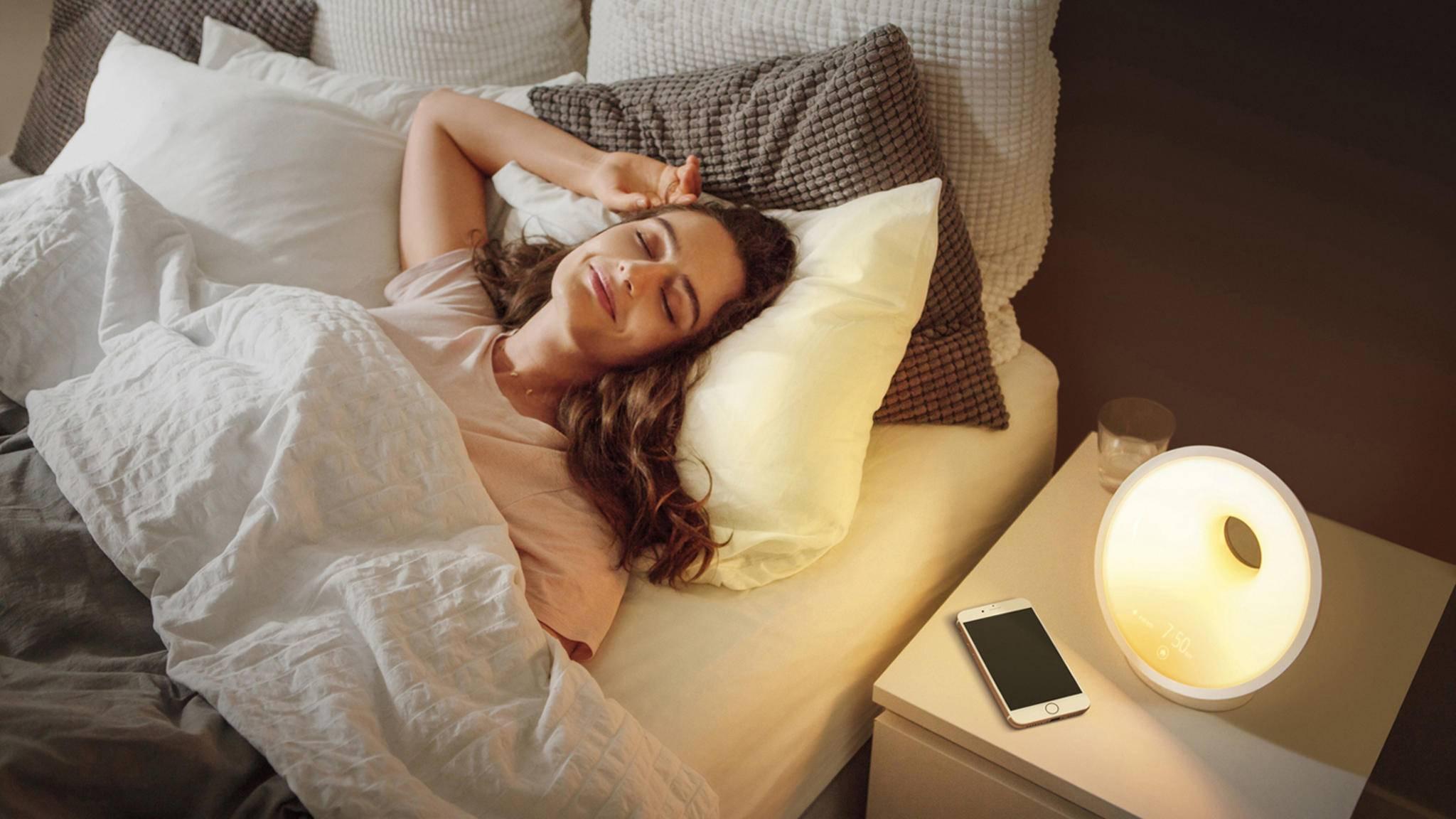 Philips Connected Sleep & Wake-up Light HF3671/01 Lichtwecker