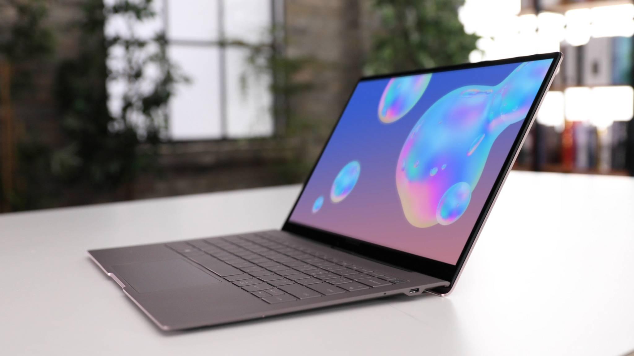 Das Galaxy Book S ist ein Windows-Laptop mit mobilem Snapdragon-Prozessor.