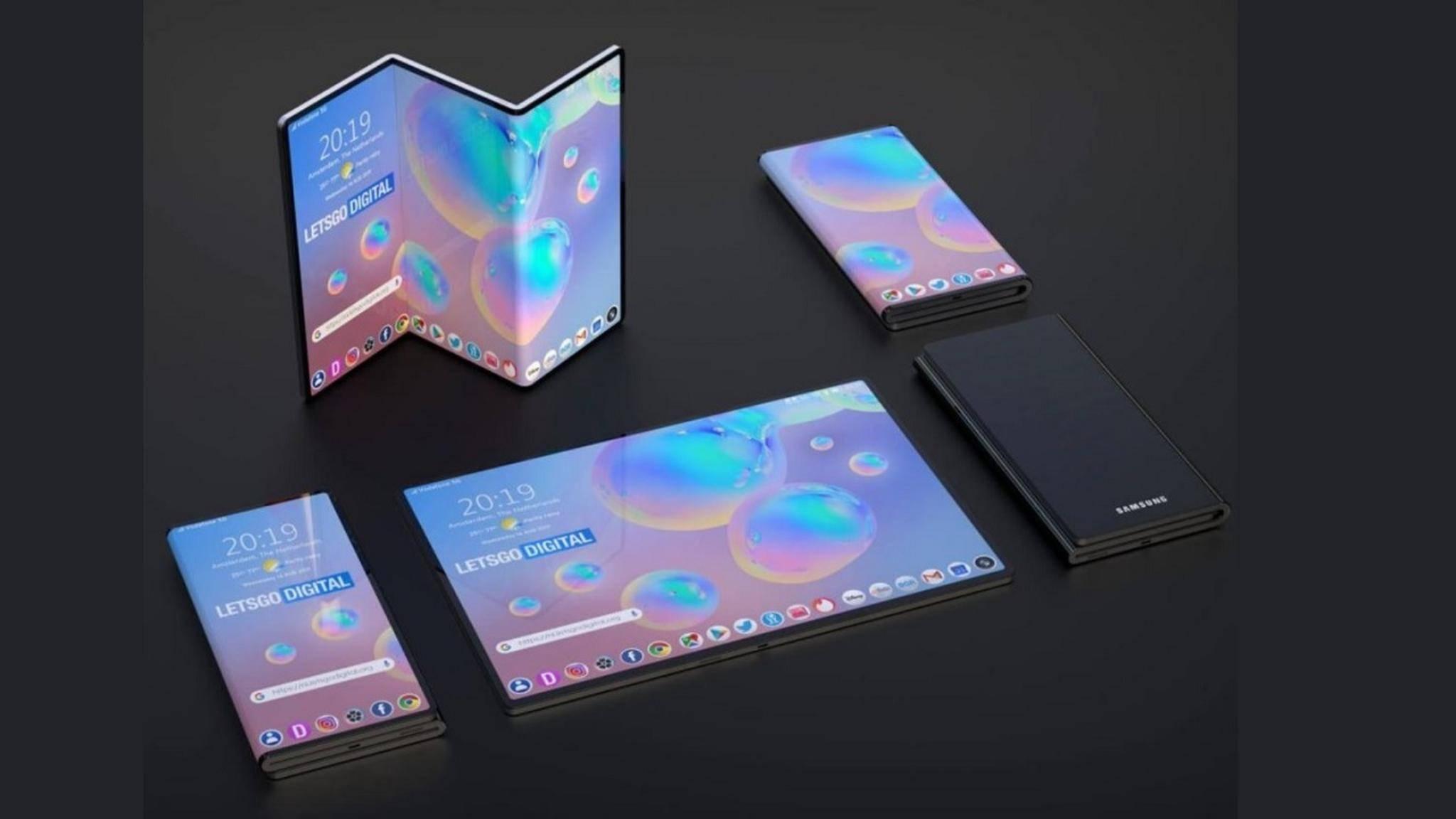 Design-Konzept Galaxy Fold Z