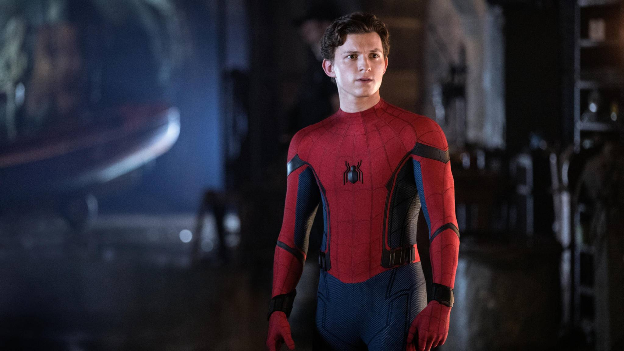 "Hier war Spider-Man noch ""Far from Home""."