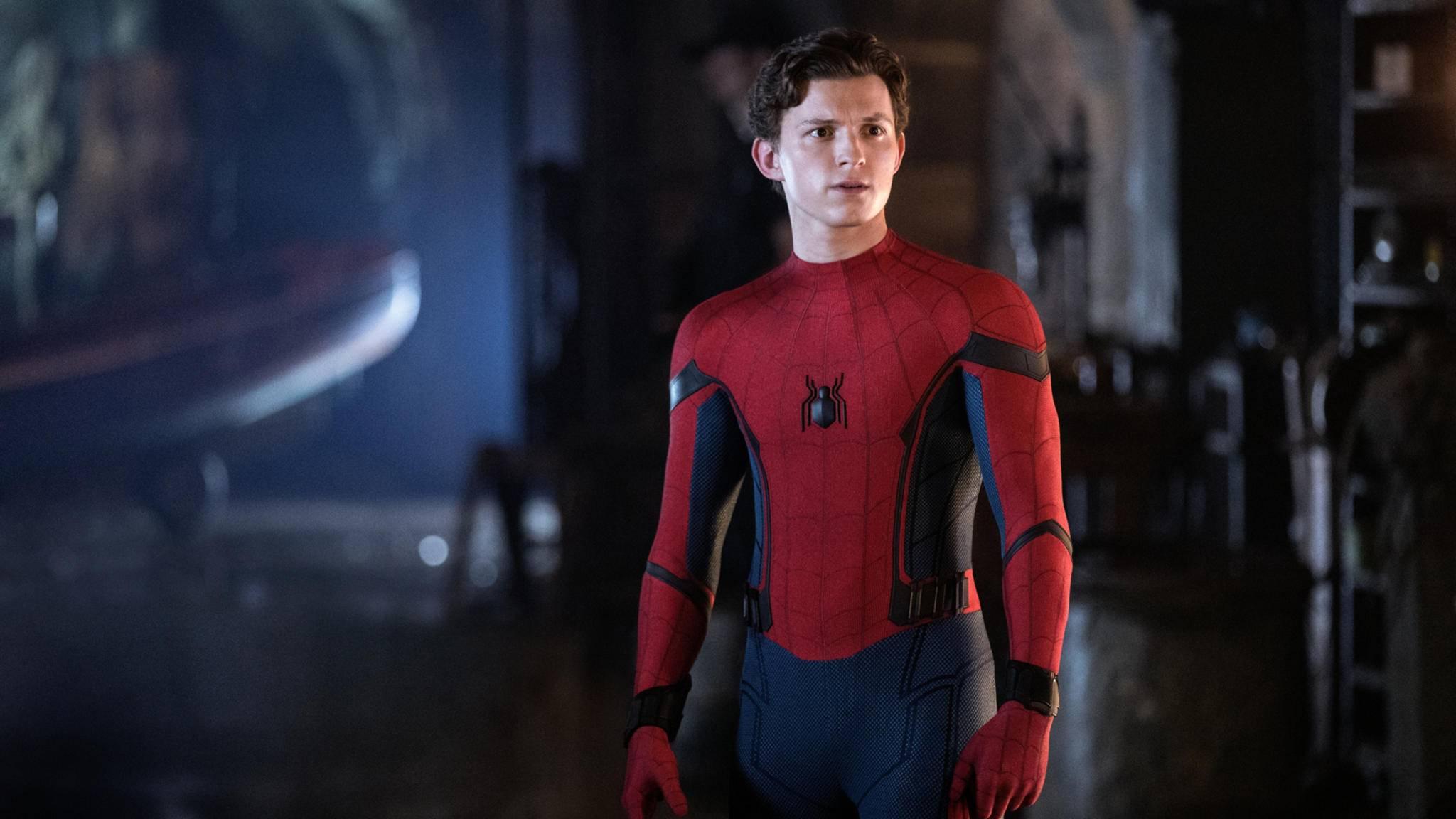 Nicht nur Peter Parker liest entgeistert den Titel des Universums, von dem er ein Teil ist.