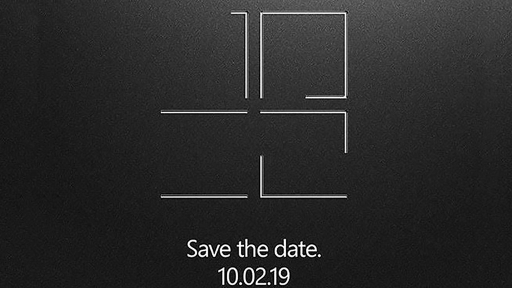 Was wird Microsoft Anfang Oktober enthüllen?