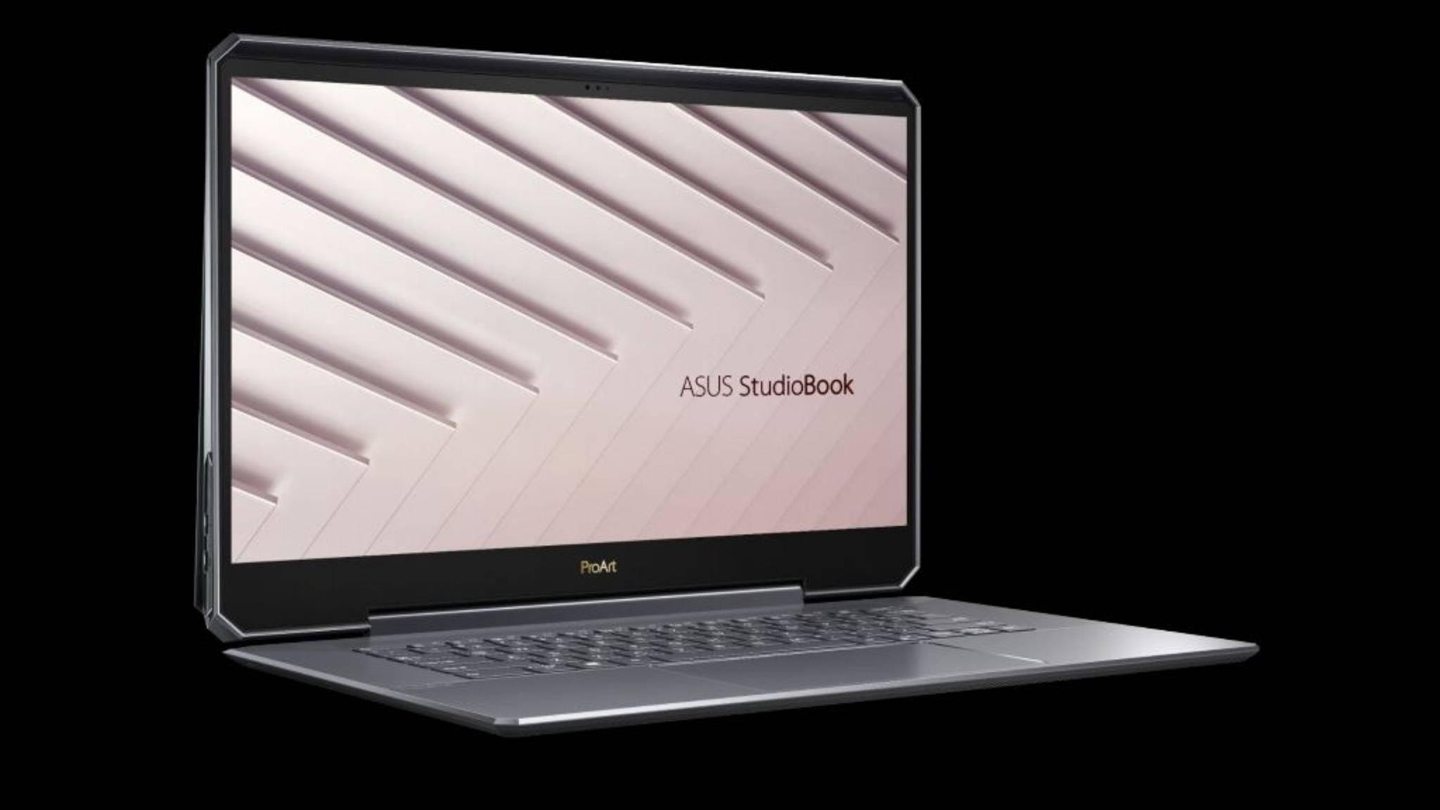 Das Asus ProArt StudioBook One ist das erste Notebook mit Quadro-RTX-6000-Grafik.