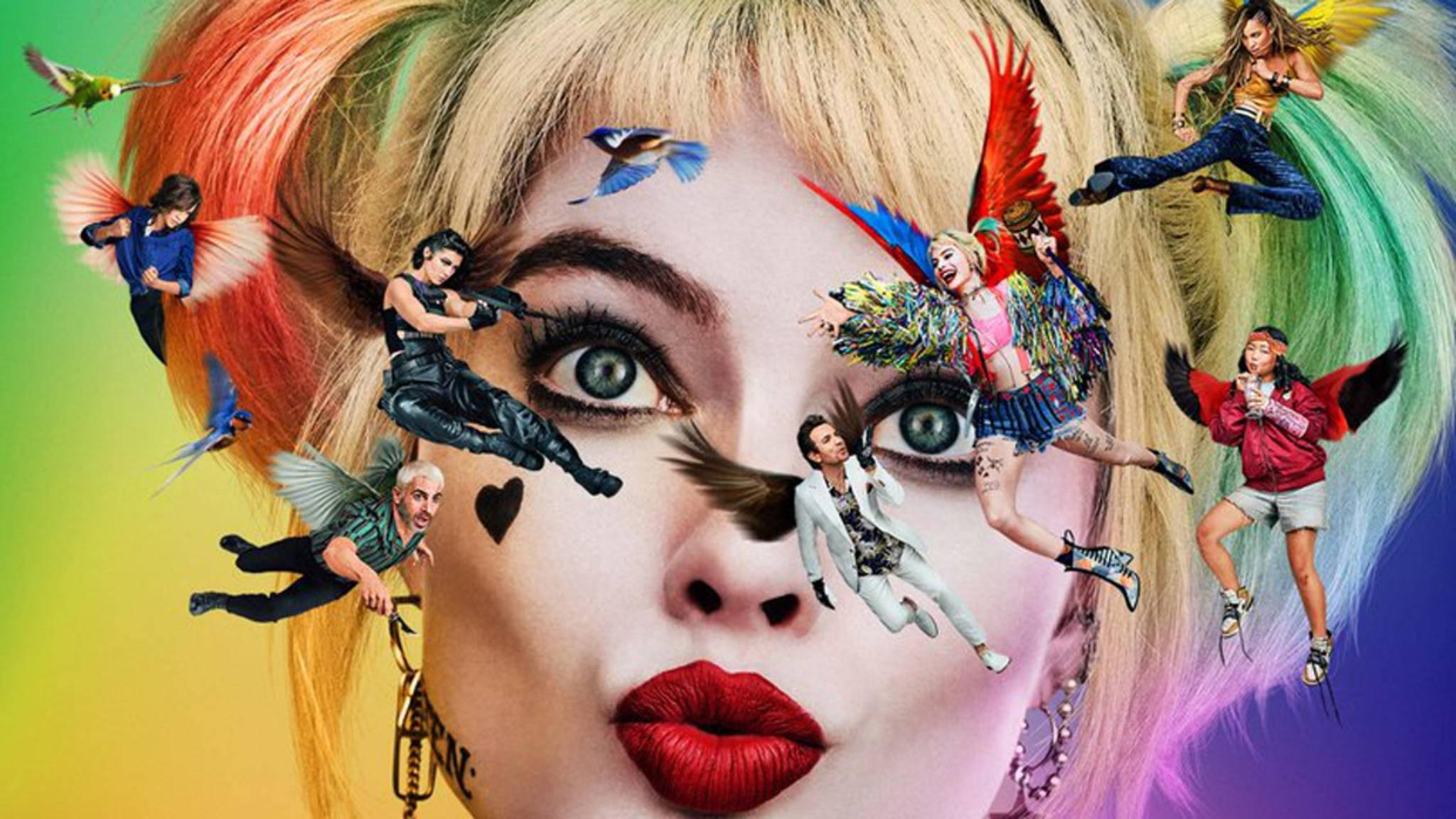 """Poster zum DC-Film """"Birds of Prey"""" mit Margot Robbie"""