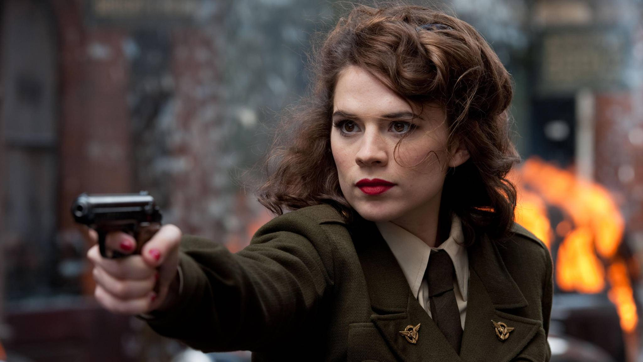 Captain America The First Avenger-Peggy Carter-Hayley Atwell-Marvel-Disney