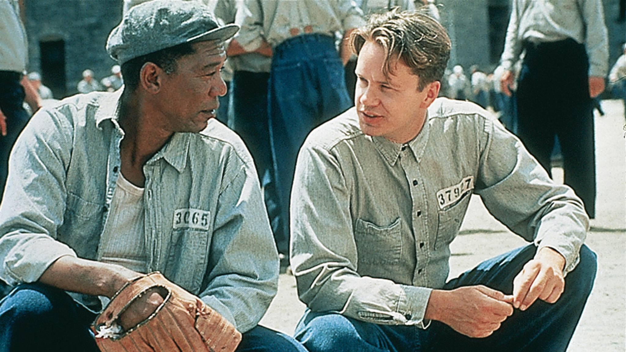 Verurteilten Shawshank Morgan Freeman Tim Robbins
