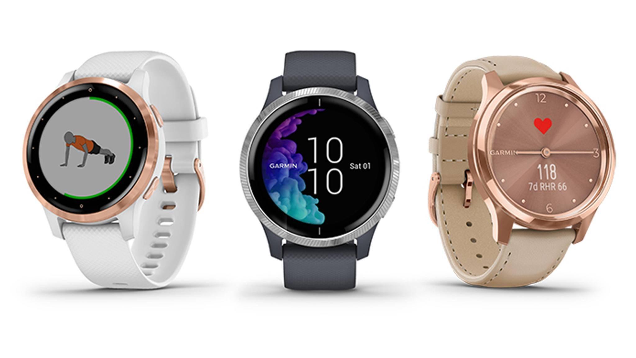 Garmin-Smartwatch-Garmin Vivoactive 4-Garmin Venu-Garmin Vivomove-Garmin Deutschland GmbH