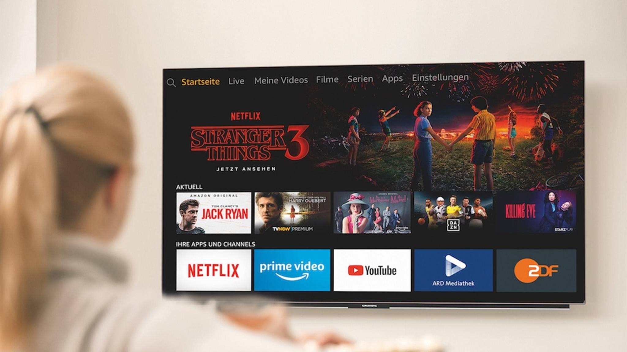 Grundig OLED-Fernseher mit Alexa