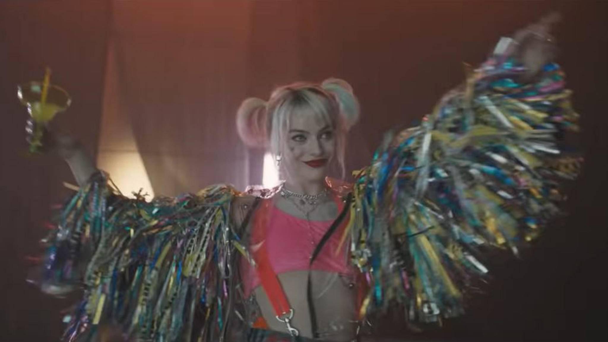 Harley Quinn legt sich im neuen Teaser mit Pennywise an.