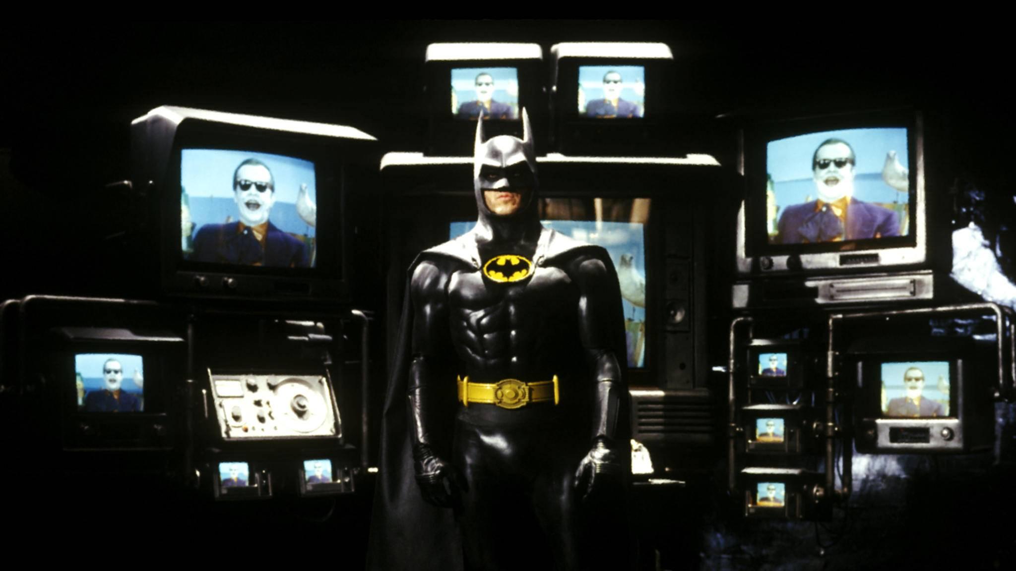 Michael Keaton als Batman im Film von 1989