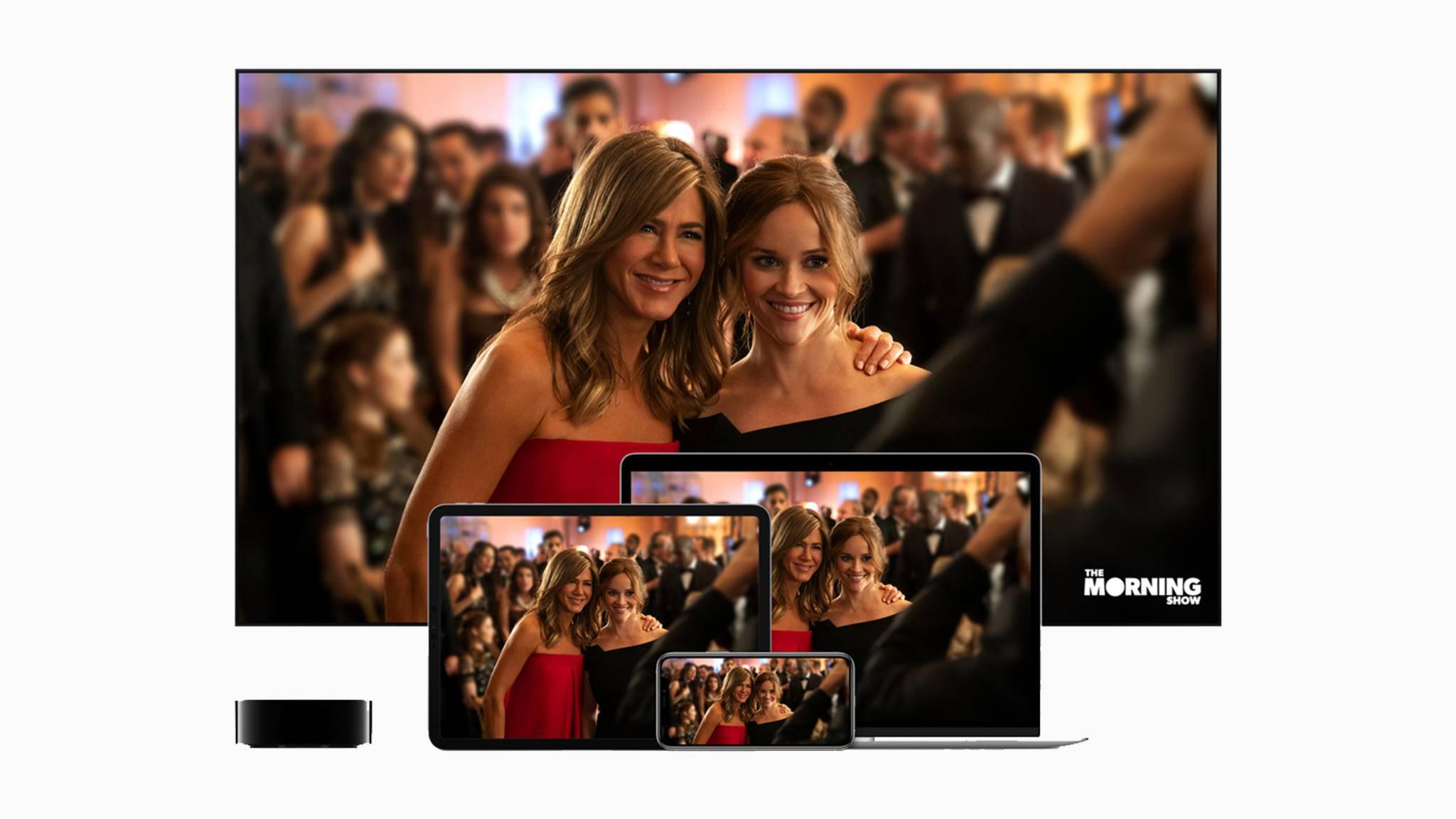 Apple TV+ bietet beim 4K-Streaming offenbar eine höhere Bitrate als die Konkurrenz oder iTunes.