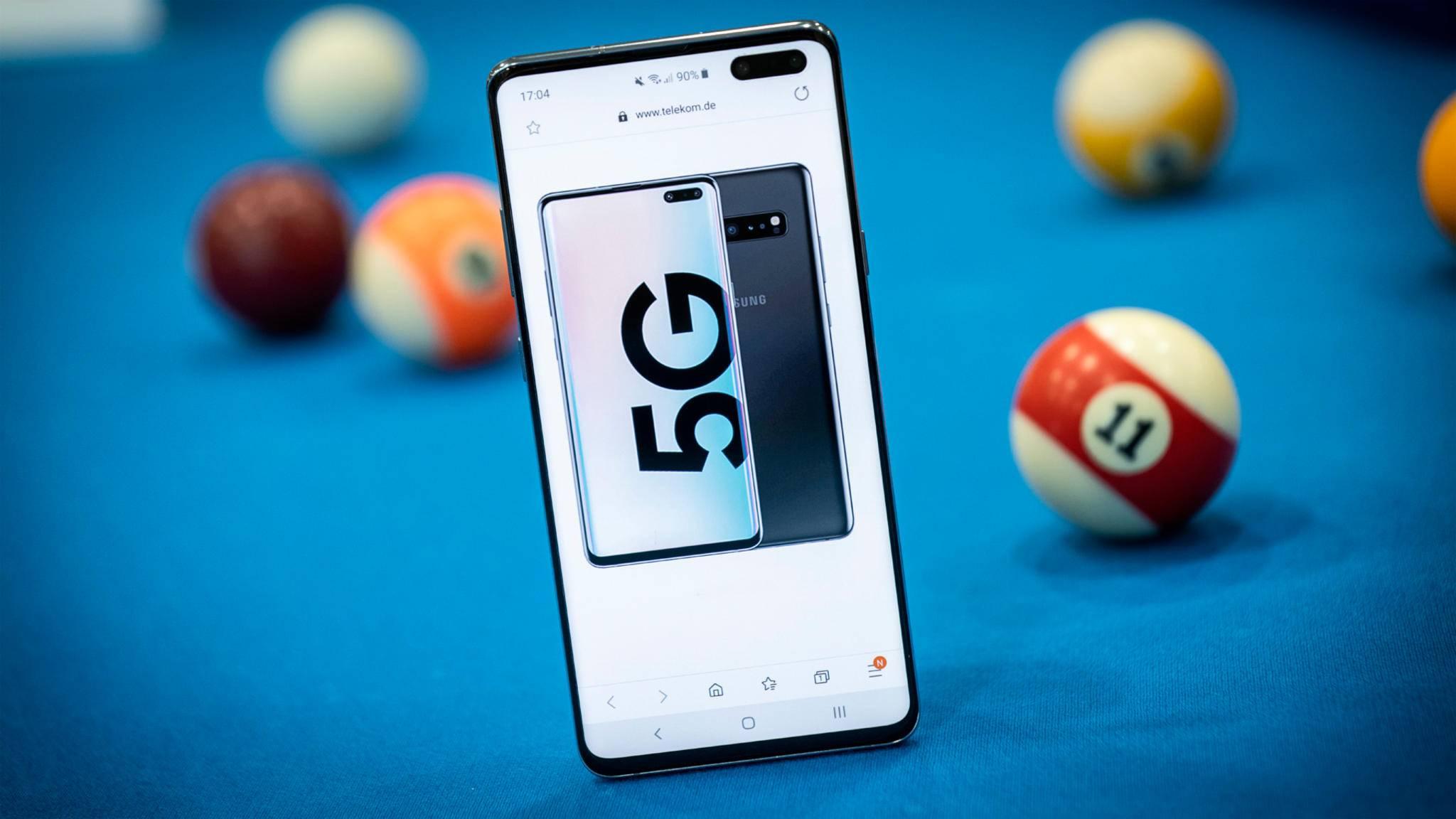 Samsung führt seinen 5G-Test erfolgreich im Labor durch.