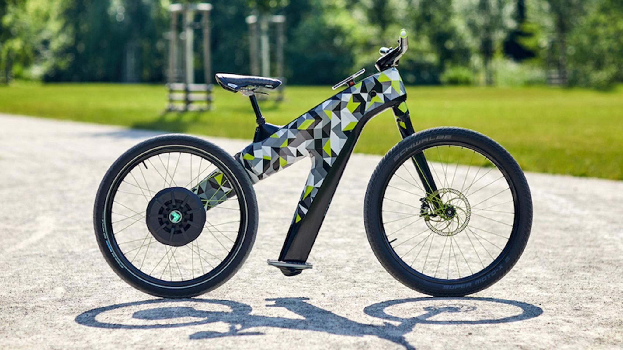 Mit seinem E-Bike-Konzept Klement leistet Skoda seinen Beitrag zum Thema E-Mobility.