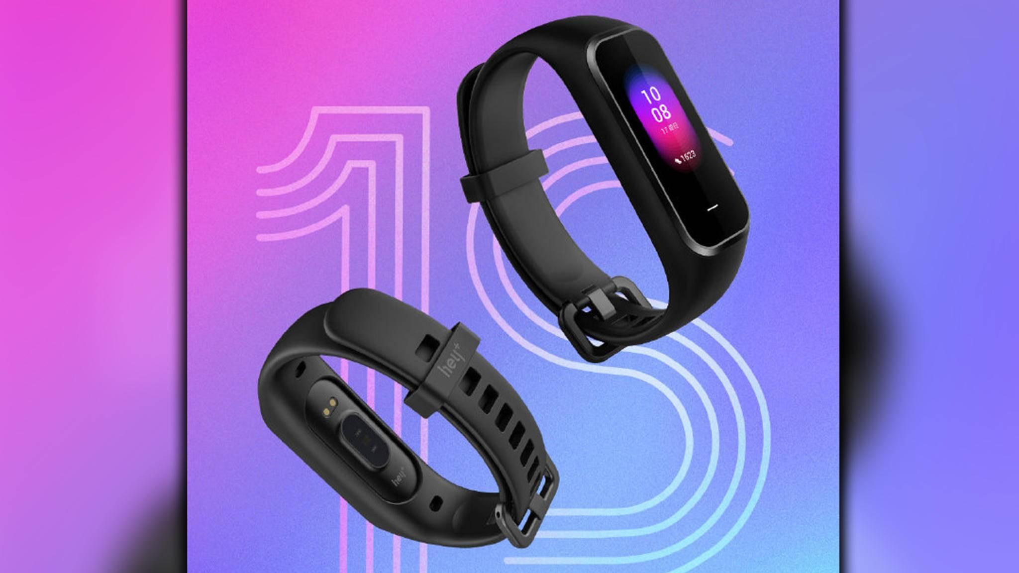 Xiaomi Hey+ 1S Fitness-Tracker Smart Band-hey+-Weibo