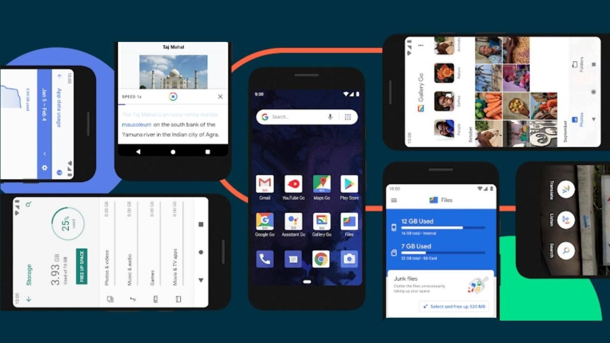 Android Go auf Smartphones
