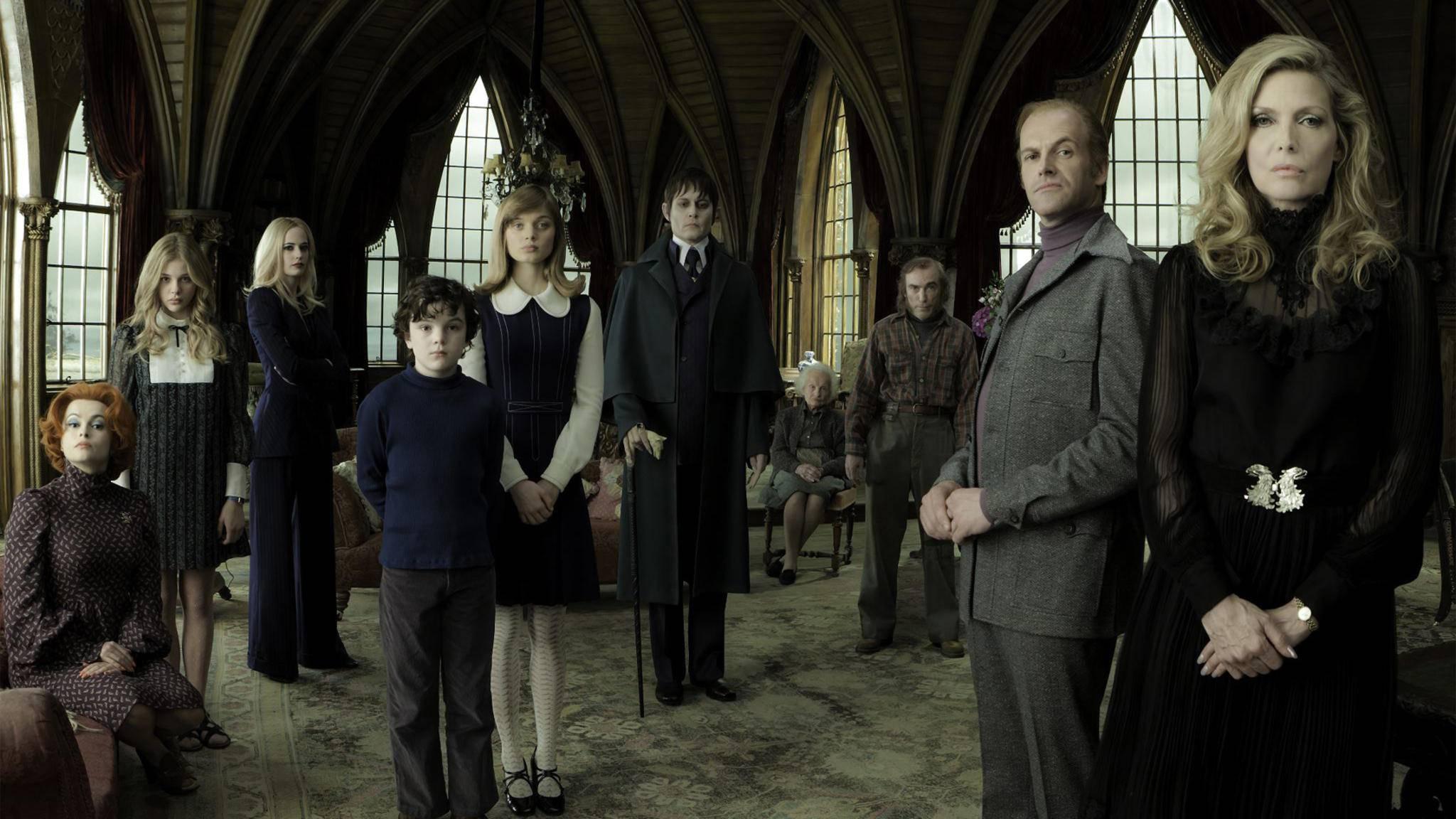 """""""Dark Shadows"""": Remake der Gothic-Serie wirft seine Schatten voraus"""