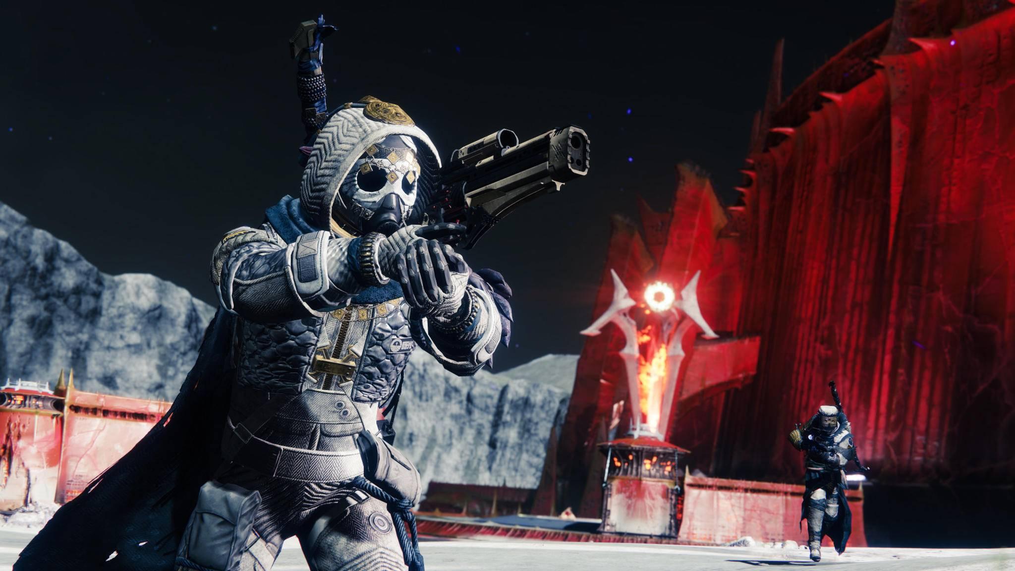 """""""Destiny 2: New Light"""" steckt mehr als gedacht – zum Beispiel der Mond aus dem """"Shadowkeep""""-DLC."""