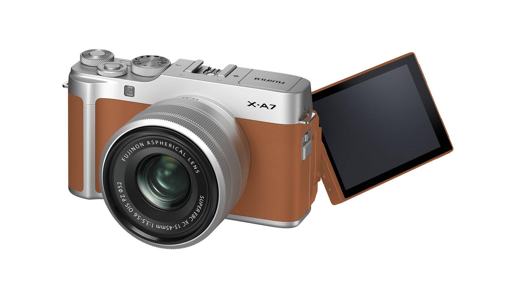 Die Fujifilm X-A7 hat einen besseren Autofokus spendiert bekommen.