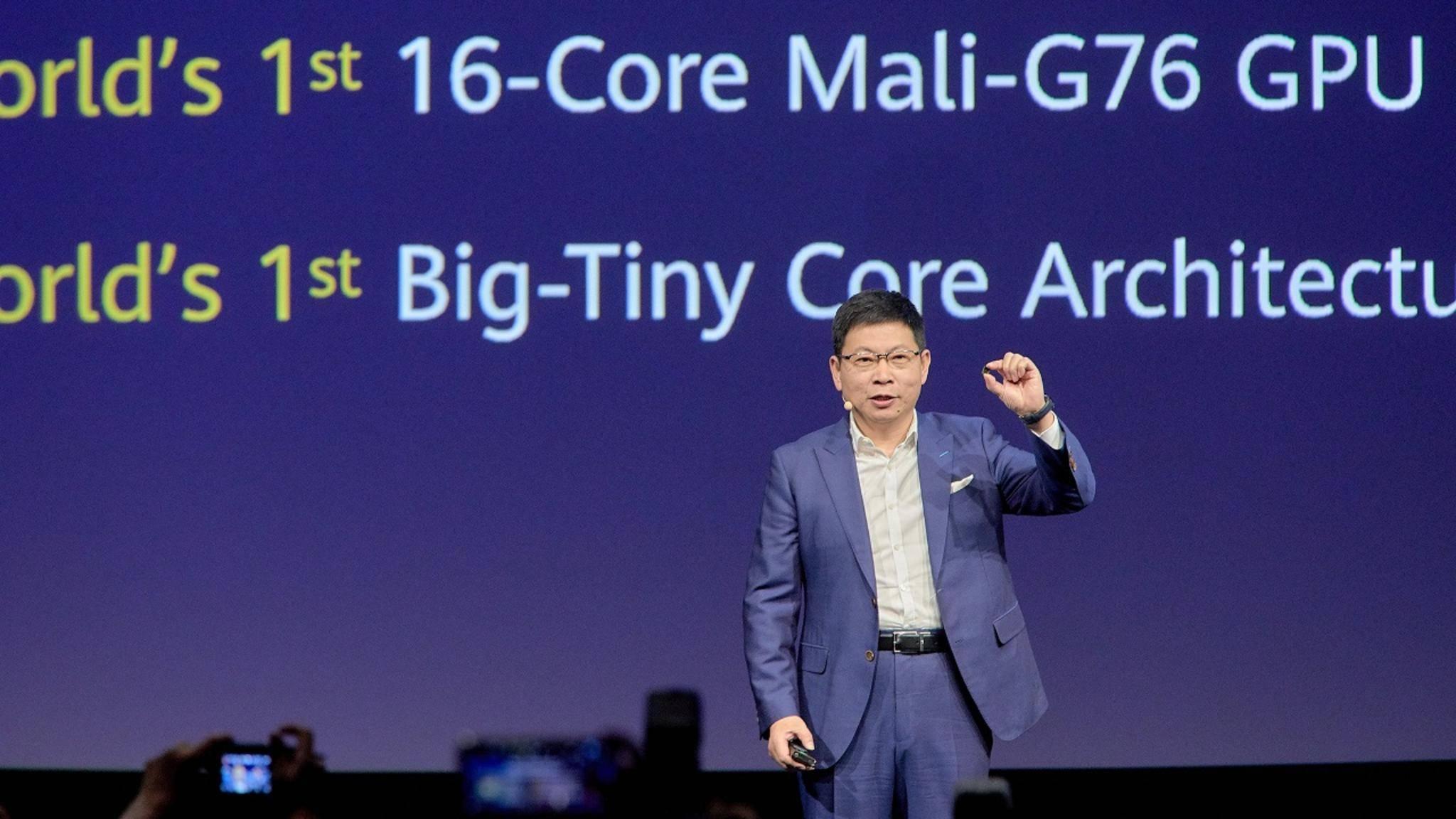Huawei Kirin 990 Richard Yu