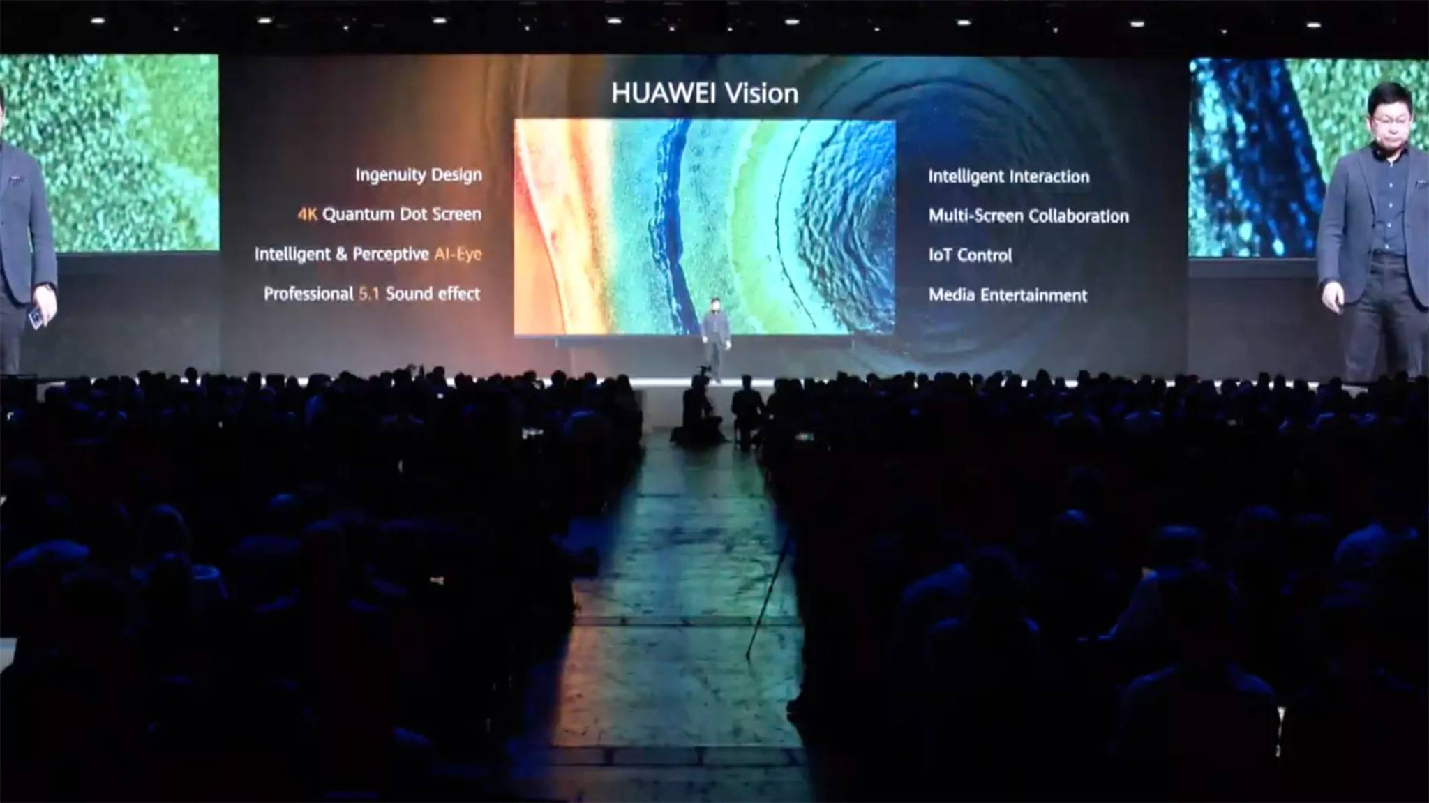 Huawei Vision TV auf der Keynote
