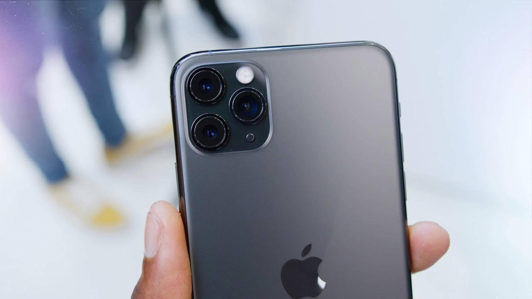 Der Nachfolger des iPhone 11 Pro soll mehr Arbeitsspeicher mitbringen.