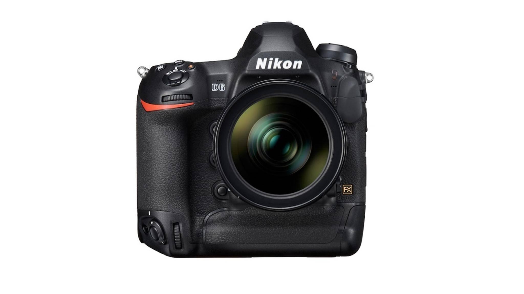 Nikon D6 DSLR Front