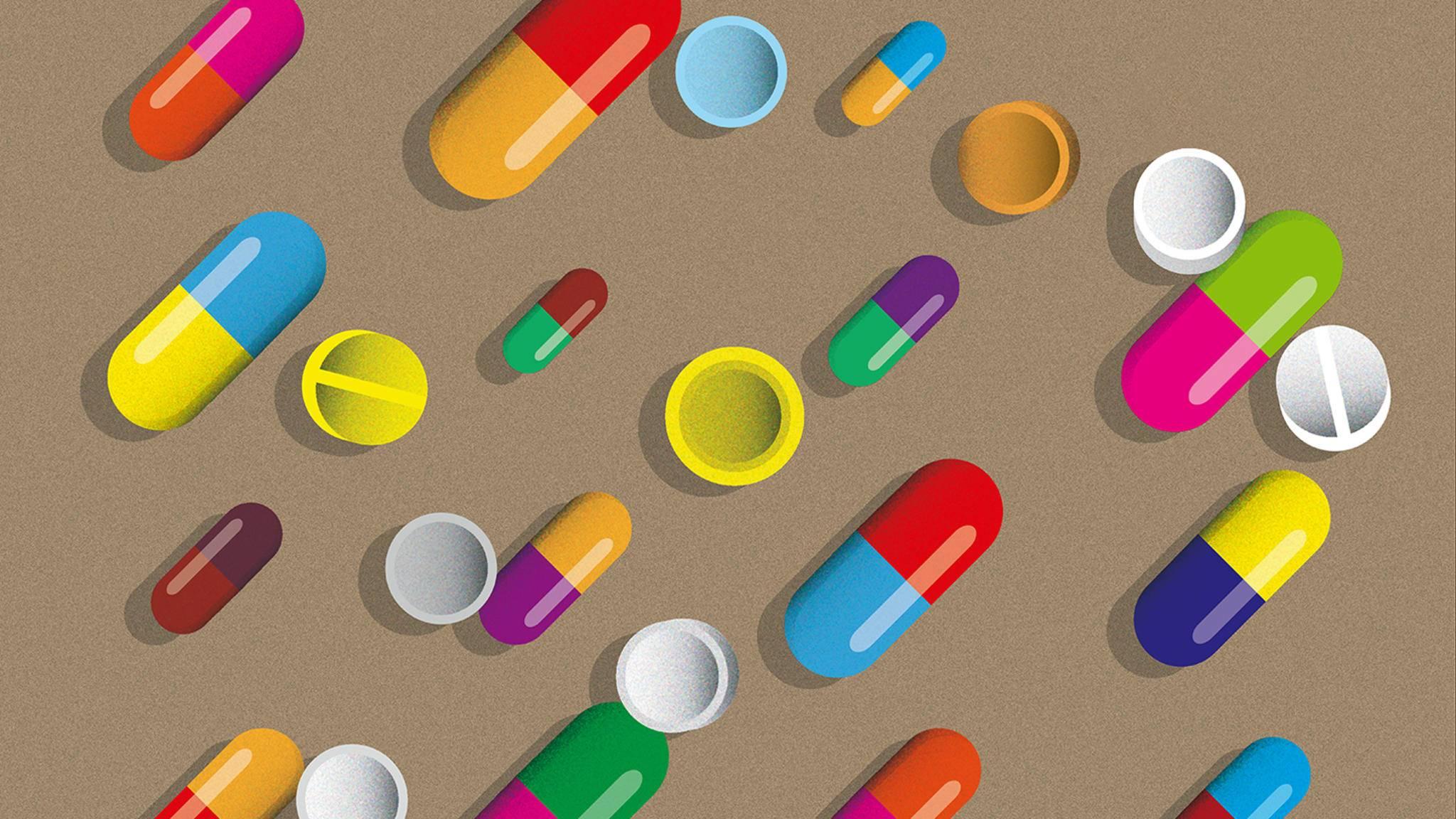 Pillen Illustration