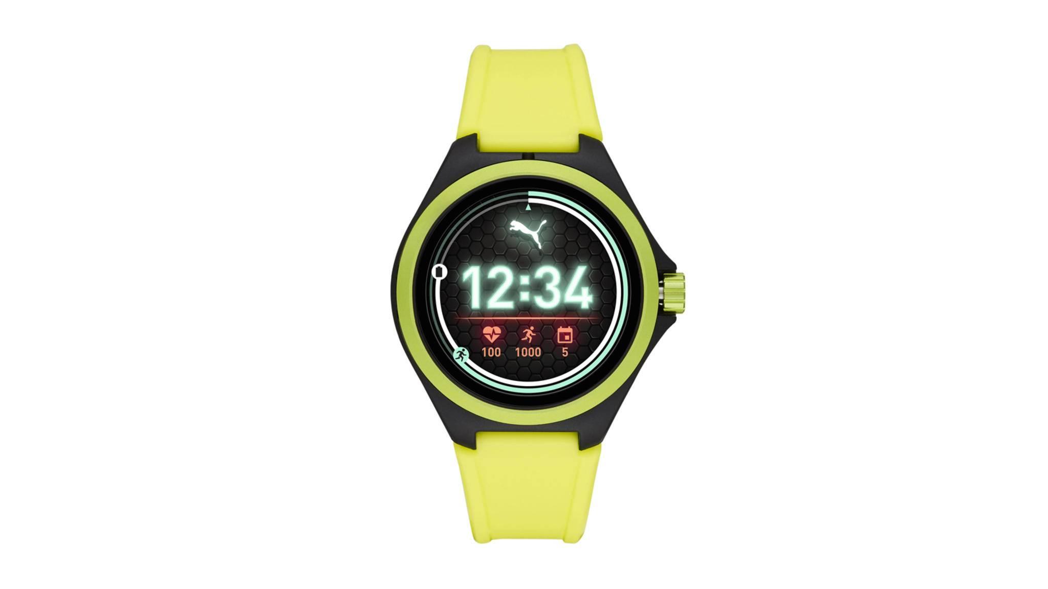 Puma präsentiert in Kooperation mit Fossil erste Smartwatch