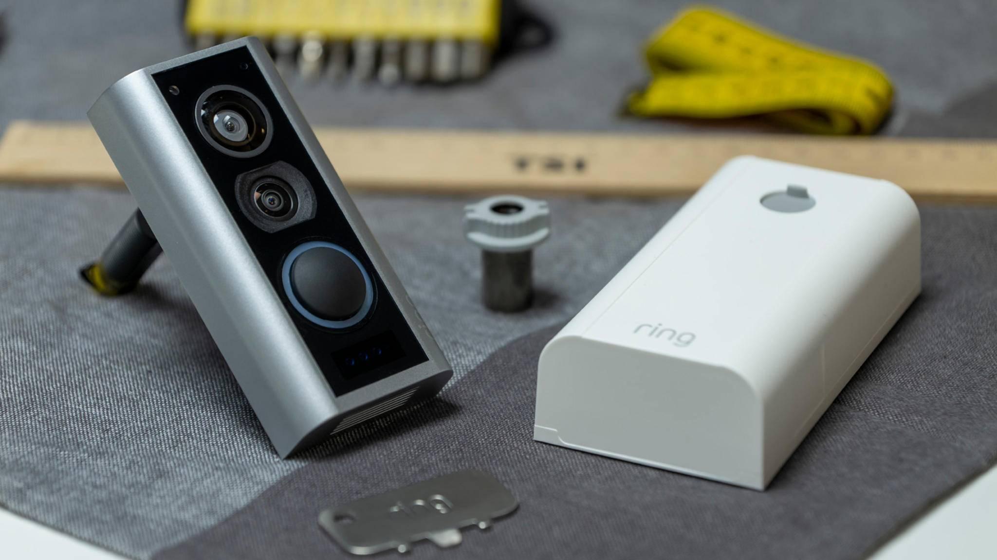 ring door view cam installation