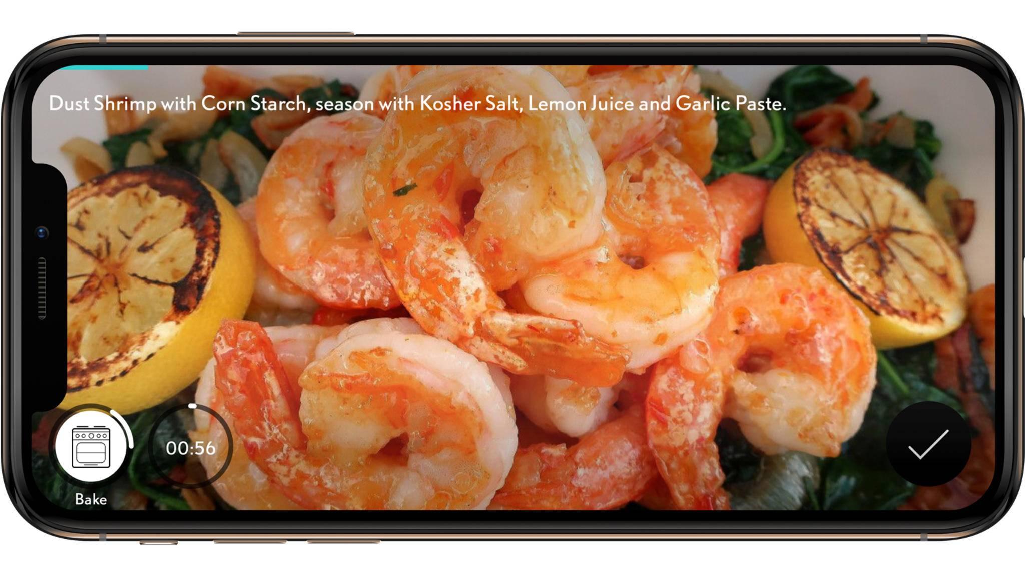 Die Rezepte von SideChef sind jetzt auch auf den smarten Kühlschränken von Haier abrufbar.