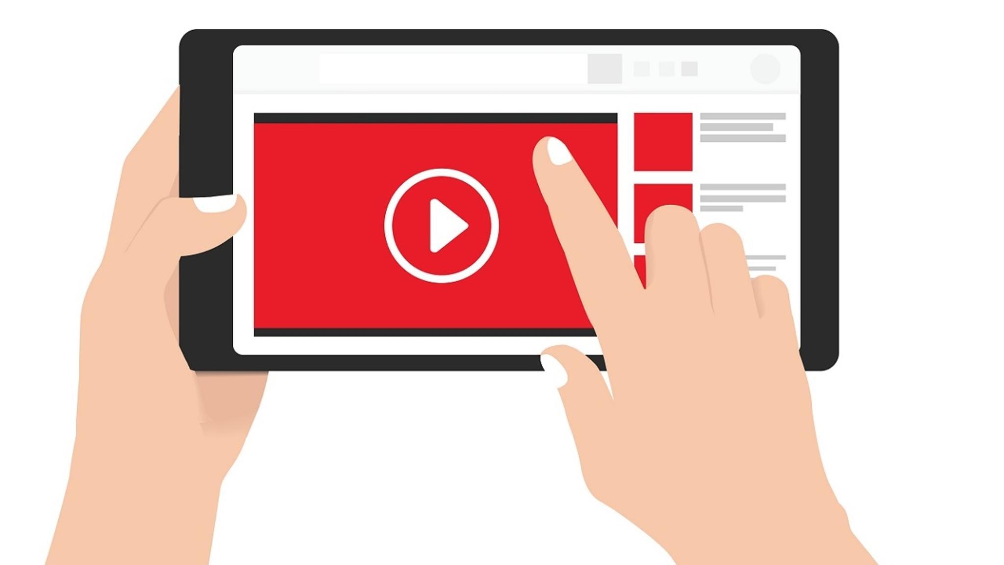 YouTube auf Smartphone steuern