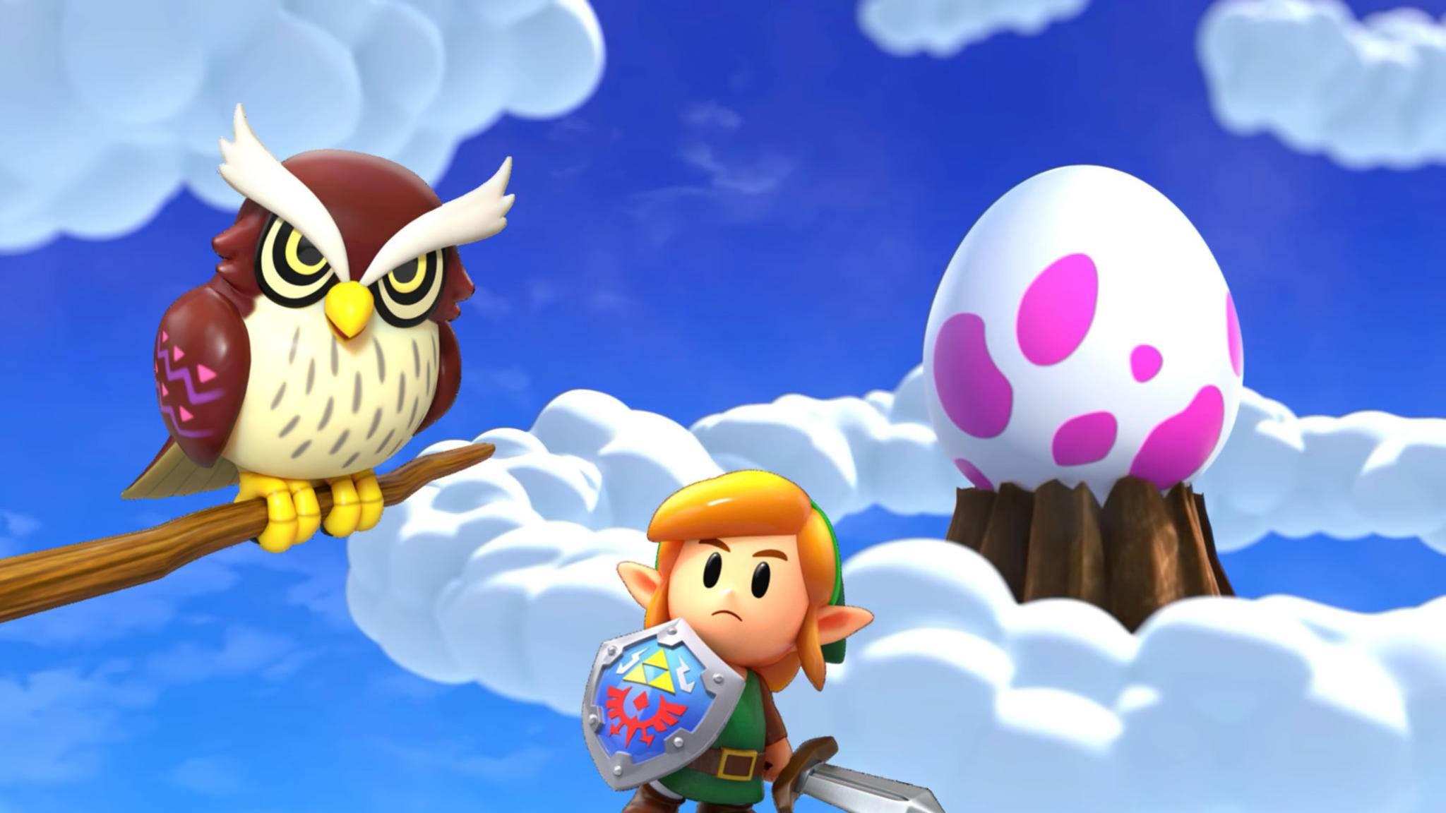"""Ein """"Zelda""""-Spiel mit Komplettlösung zocken? Da kann man schon mal skeptisch gucken..."""