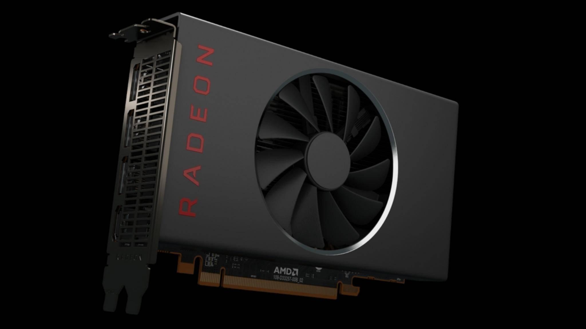 Die Radeon RX 5500 von AMD soll es mit der GTX 1650 aufnehmen.